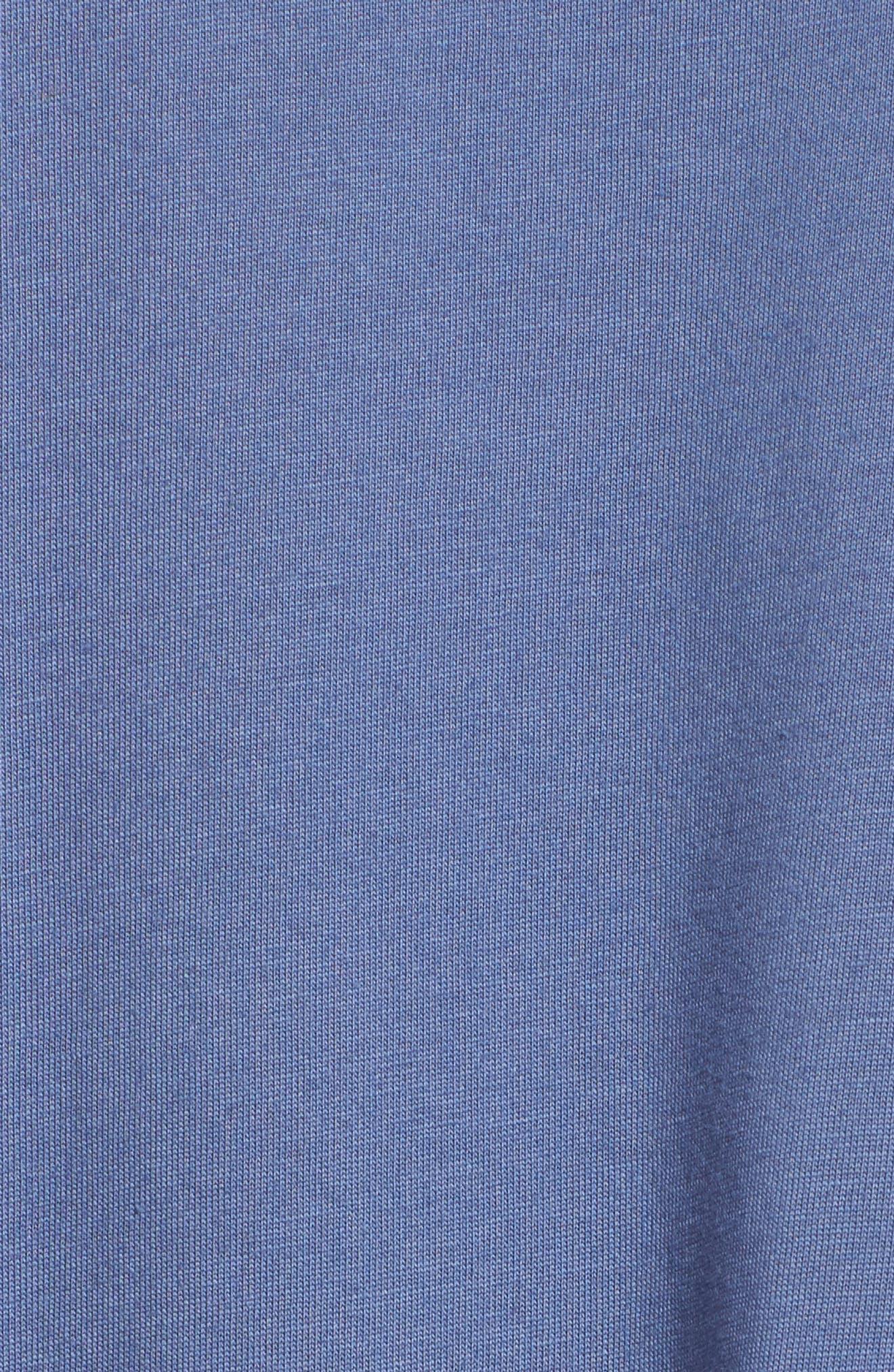 Bliss Supima<sup>®</sup> Cotton Pajamas,                             Alternate thumbnail 6, color,                             Blue Haze