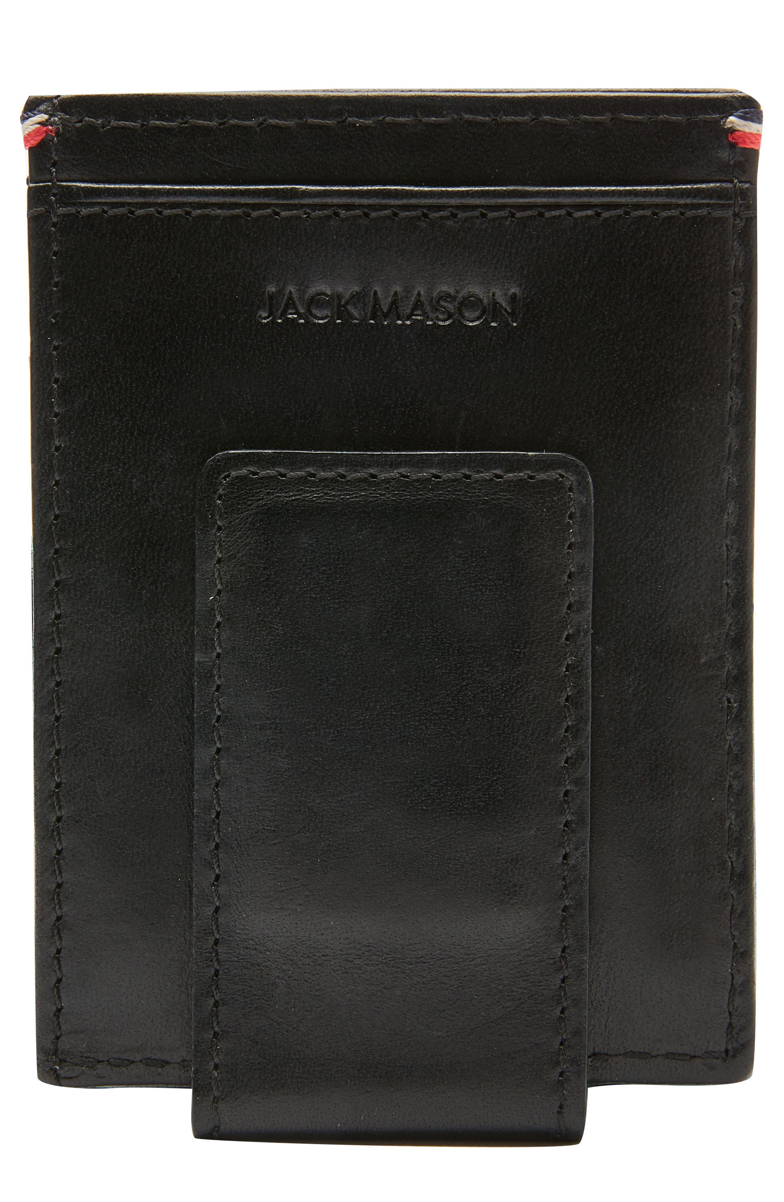 Jack Mason Core Magnetic Money Clip Card Case