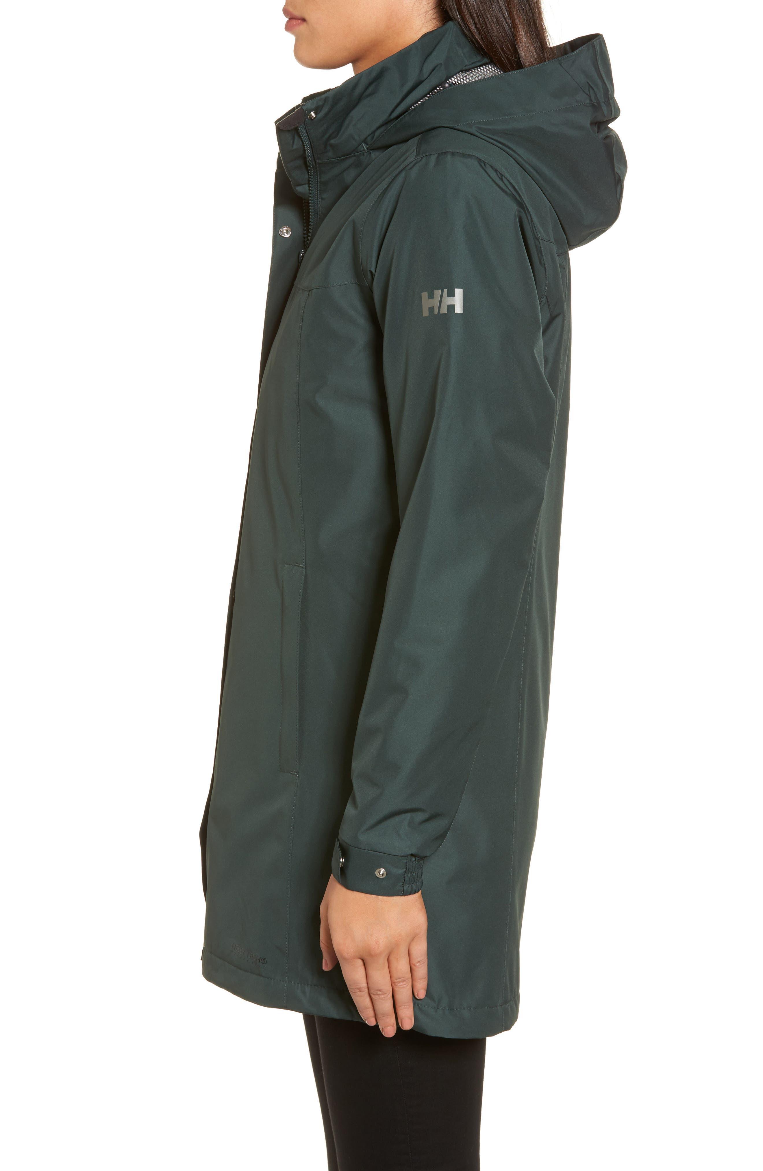 Alternate Image 3  - Helly Hansen Aden Hooded Insulated Rain Jacket