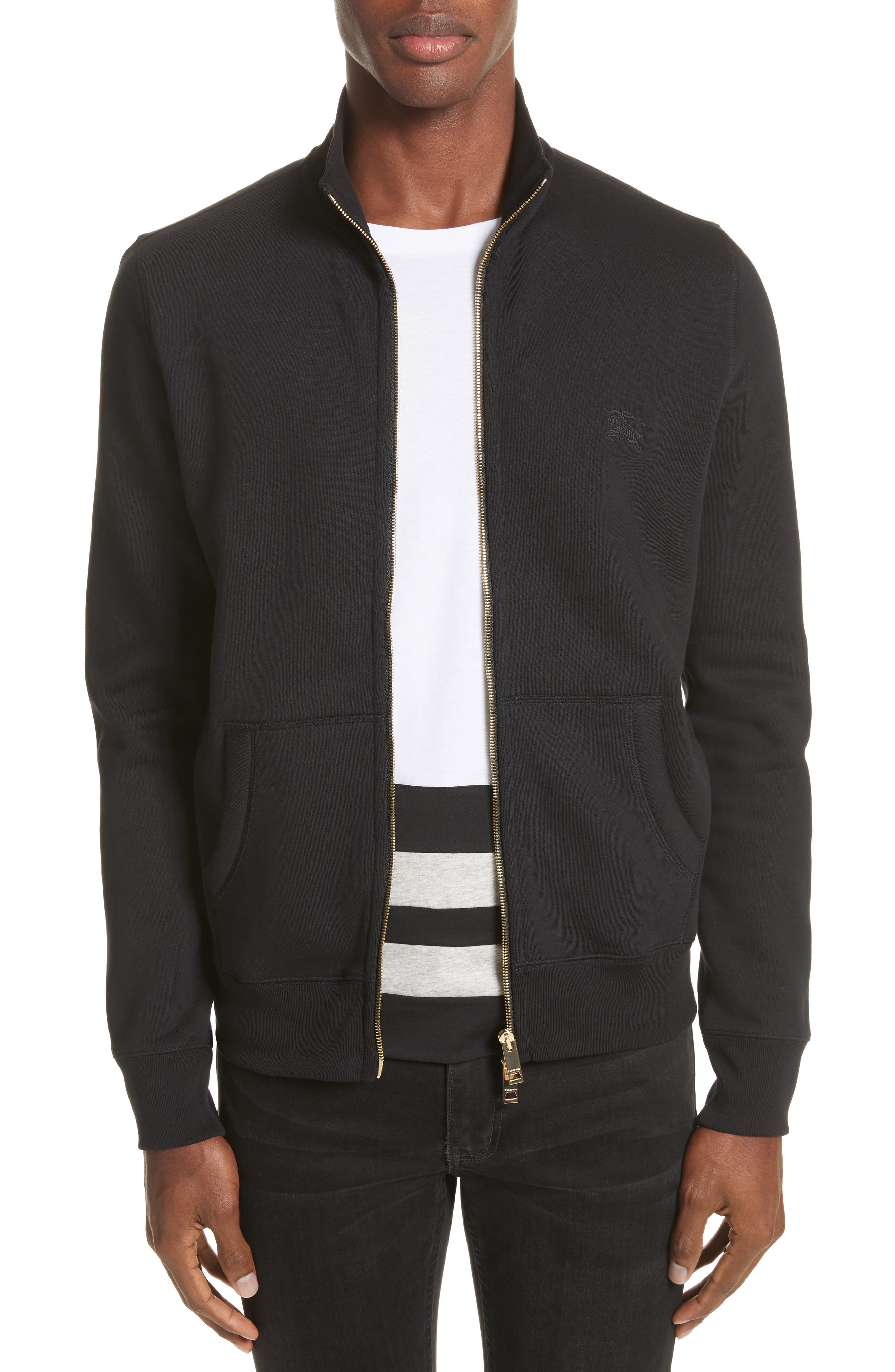Burberry Sheltone Full Zip Fleece Jacket