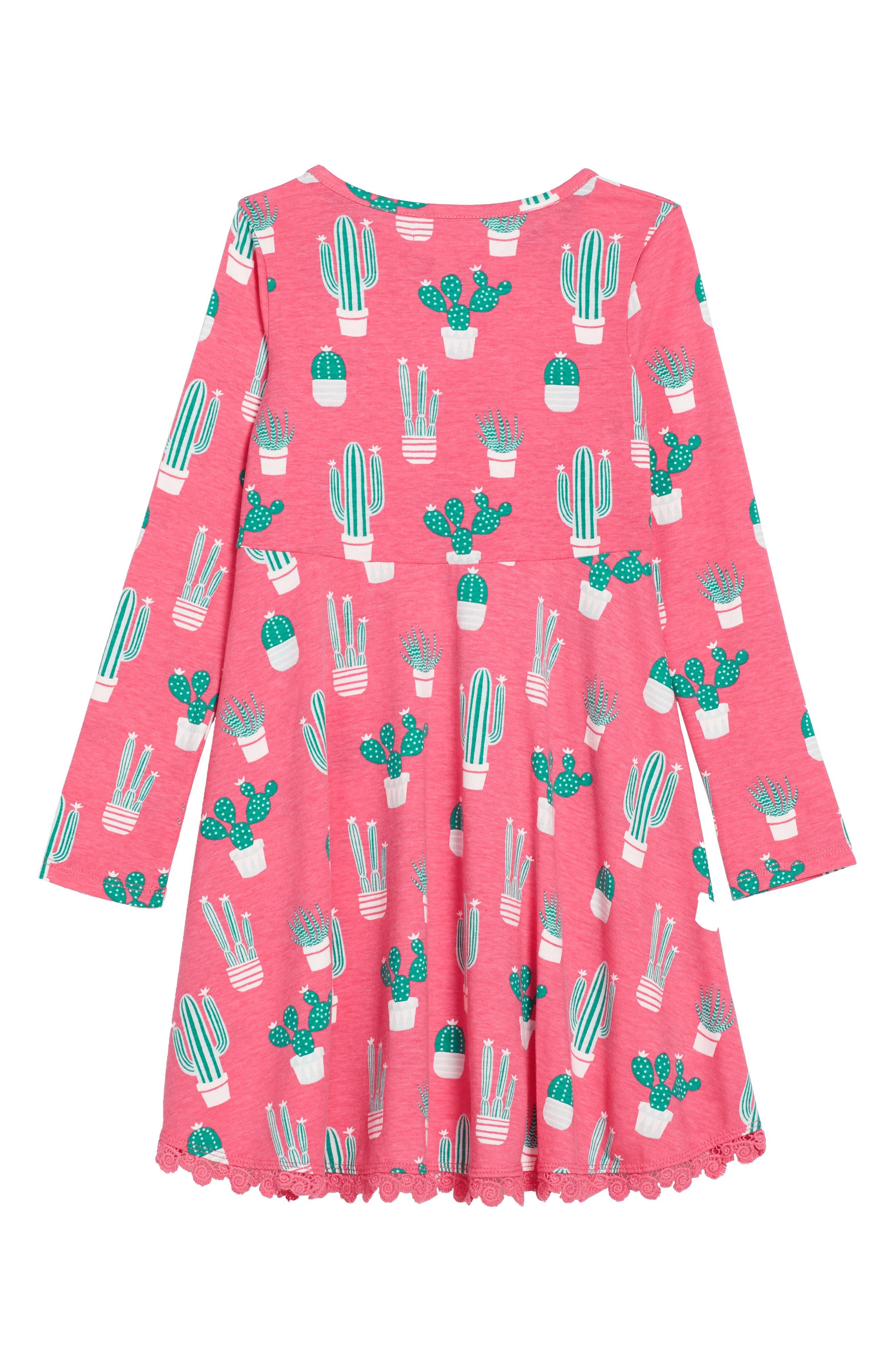 Alternate Image 2  - Tucker + Tate Print Knit Dress (Toddler Girls, Little Girls & Big Girls)