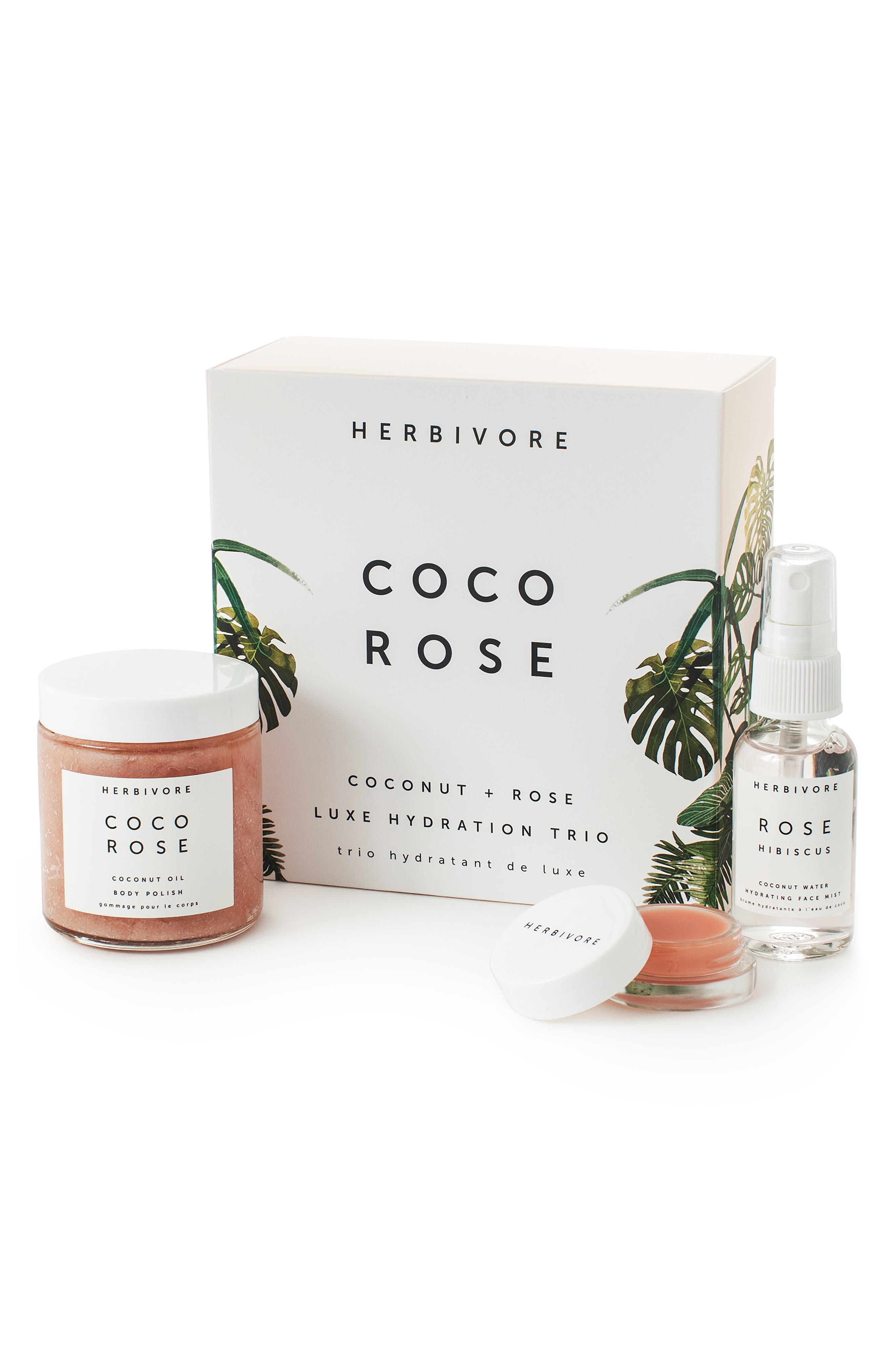 Herbivore Botanicals Coco Rose Luxe Hydration Trio (Limited Edition) ($51 Value)