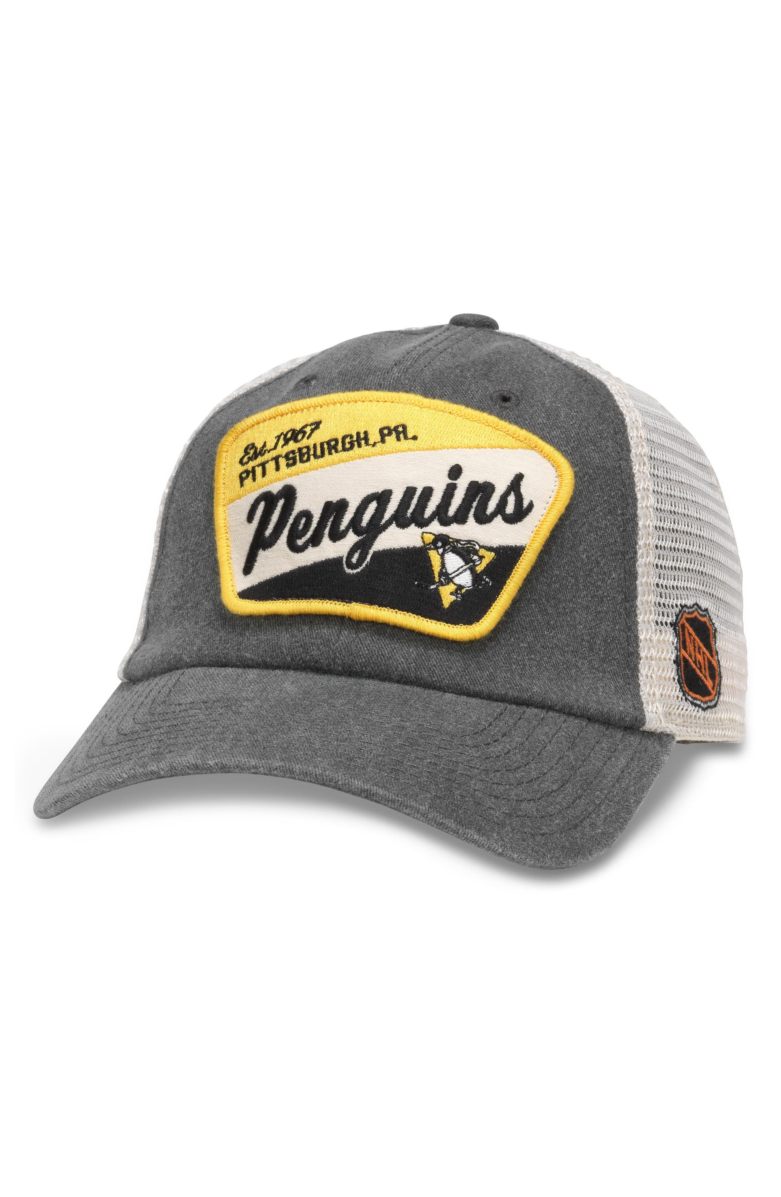 Ravenswood NHL Trucker Cap,                         Main,                         color, Pittsburgh Penguins