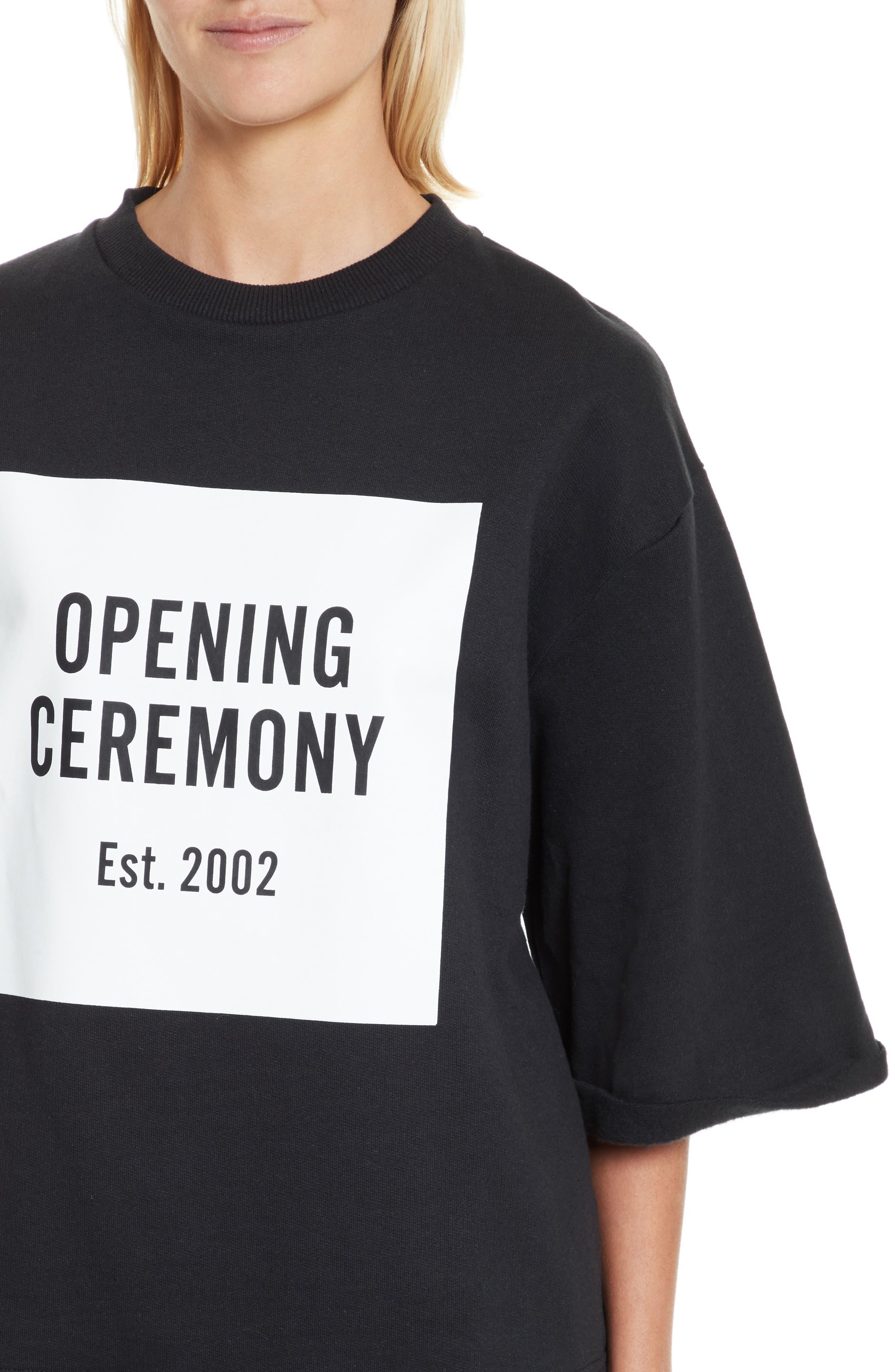 Alternate Image 4  - Opening Ceremony Logo Sweatshirt Tee