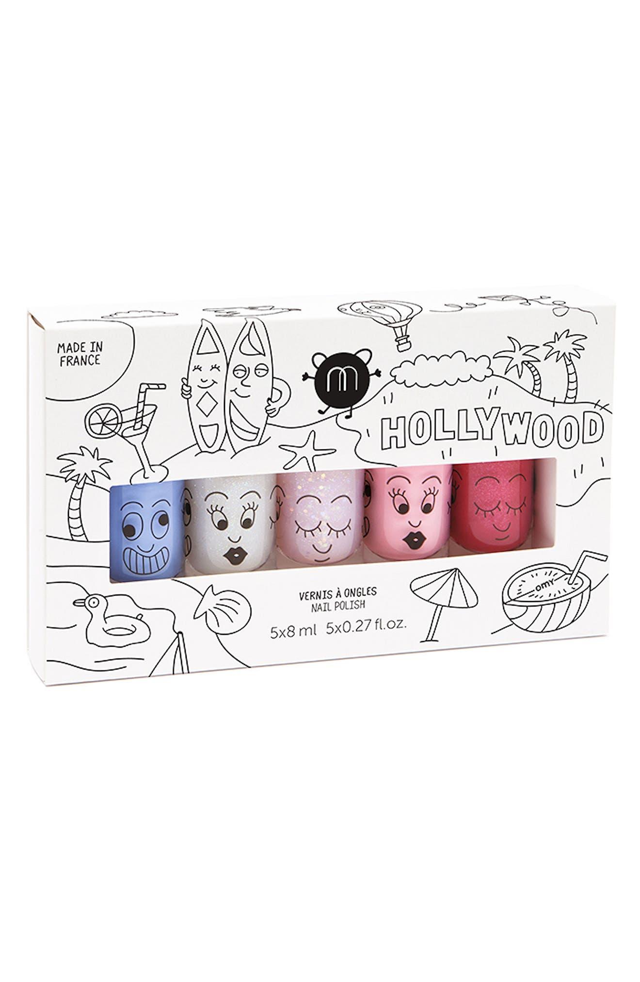 Alternate Image 1 Selected - Nailmatic Water-Based Nail Polish Set (Girls)