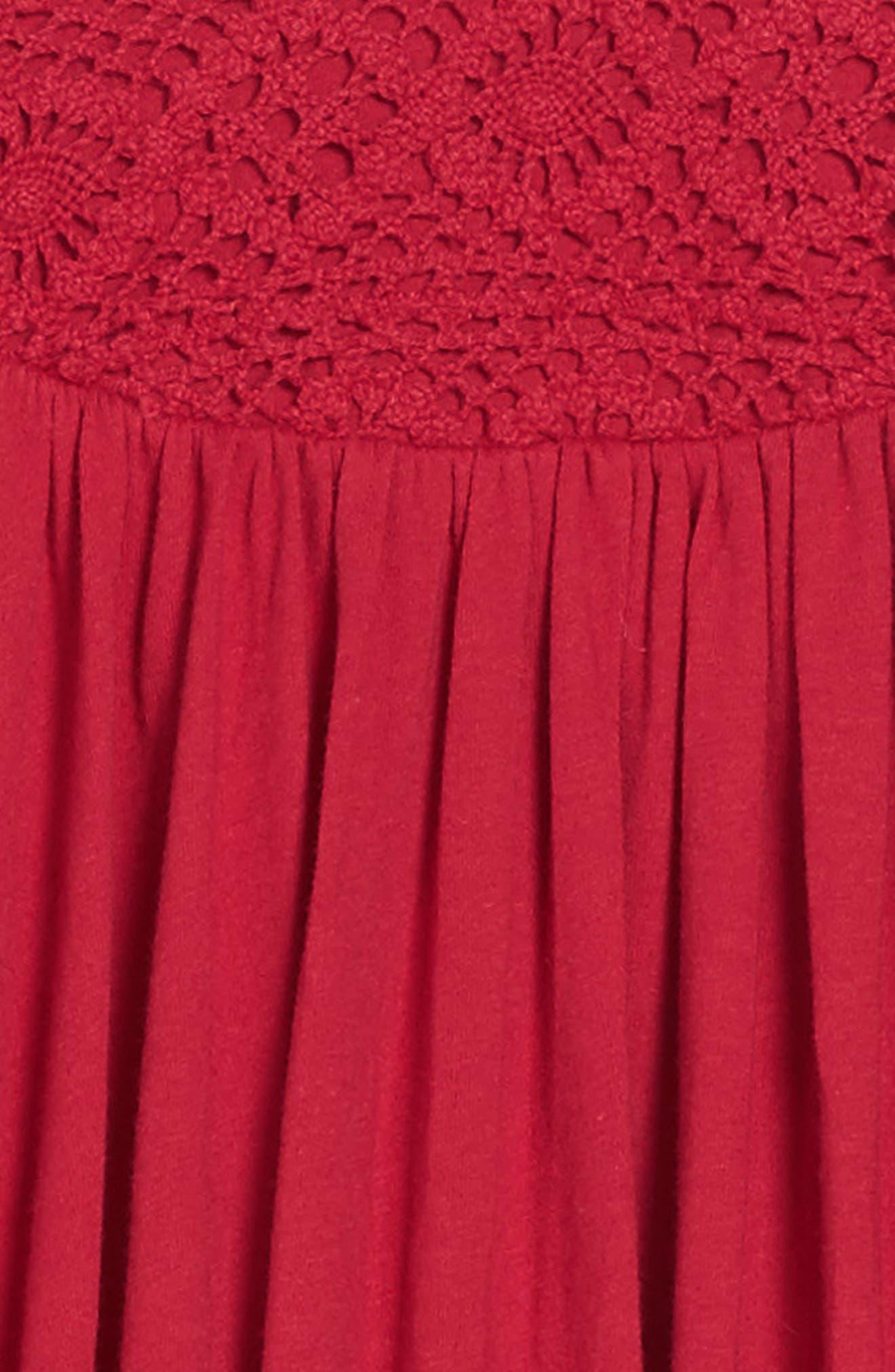 Alternate Image 3  - Burt's Bees Baby Organic Cotton Bubble Dress (Toddler Girls & Little Girls)