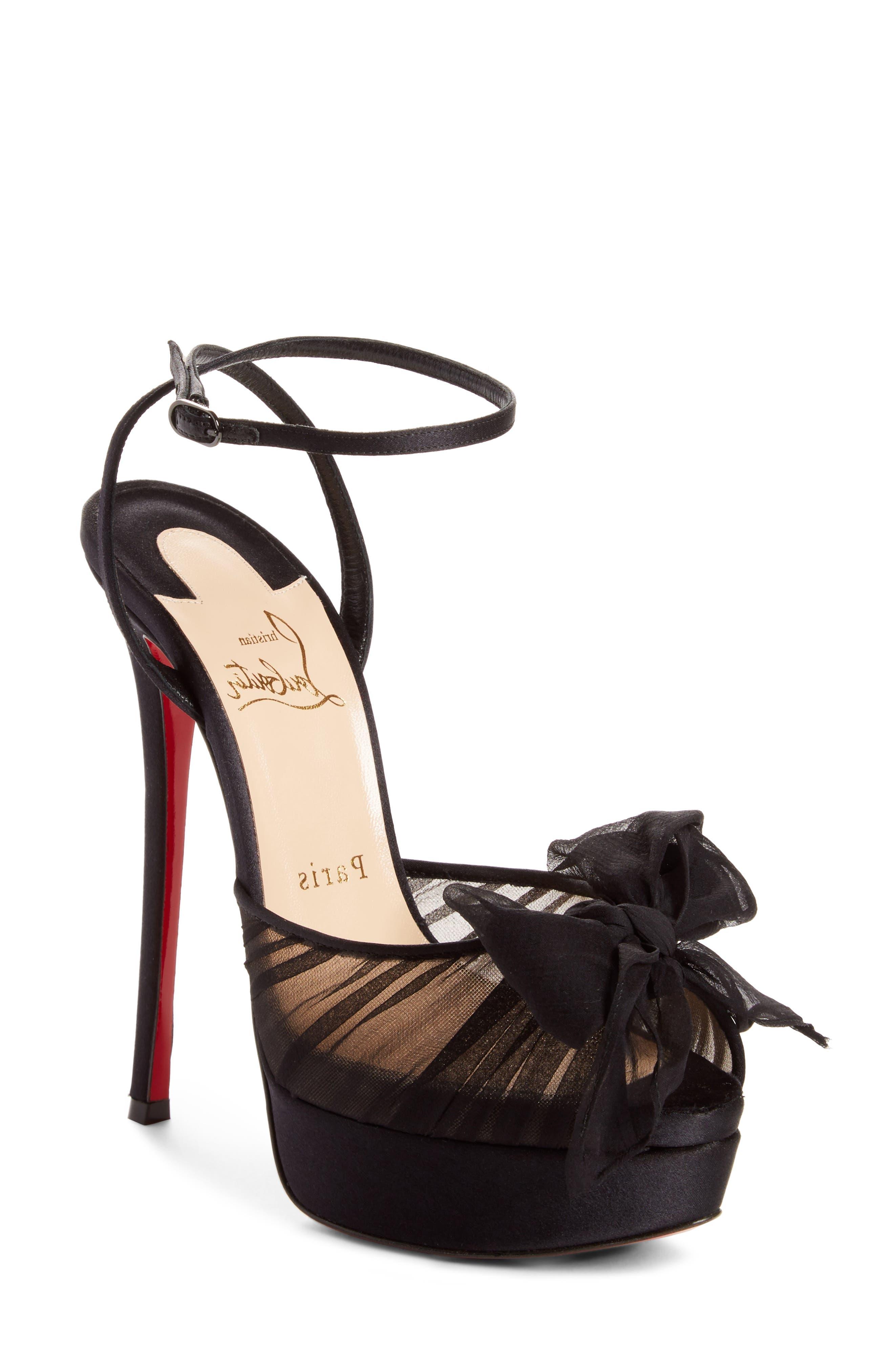 Artydiva Platform Ankle Strap Sandal,                         Main,                         color, Black