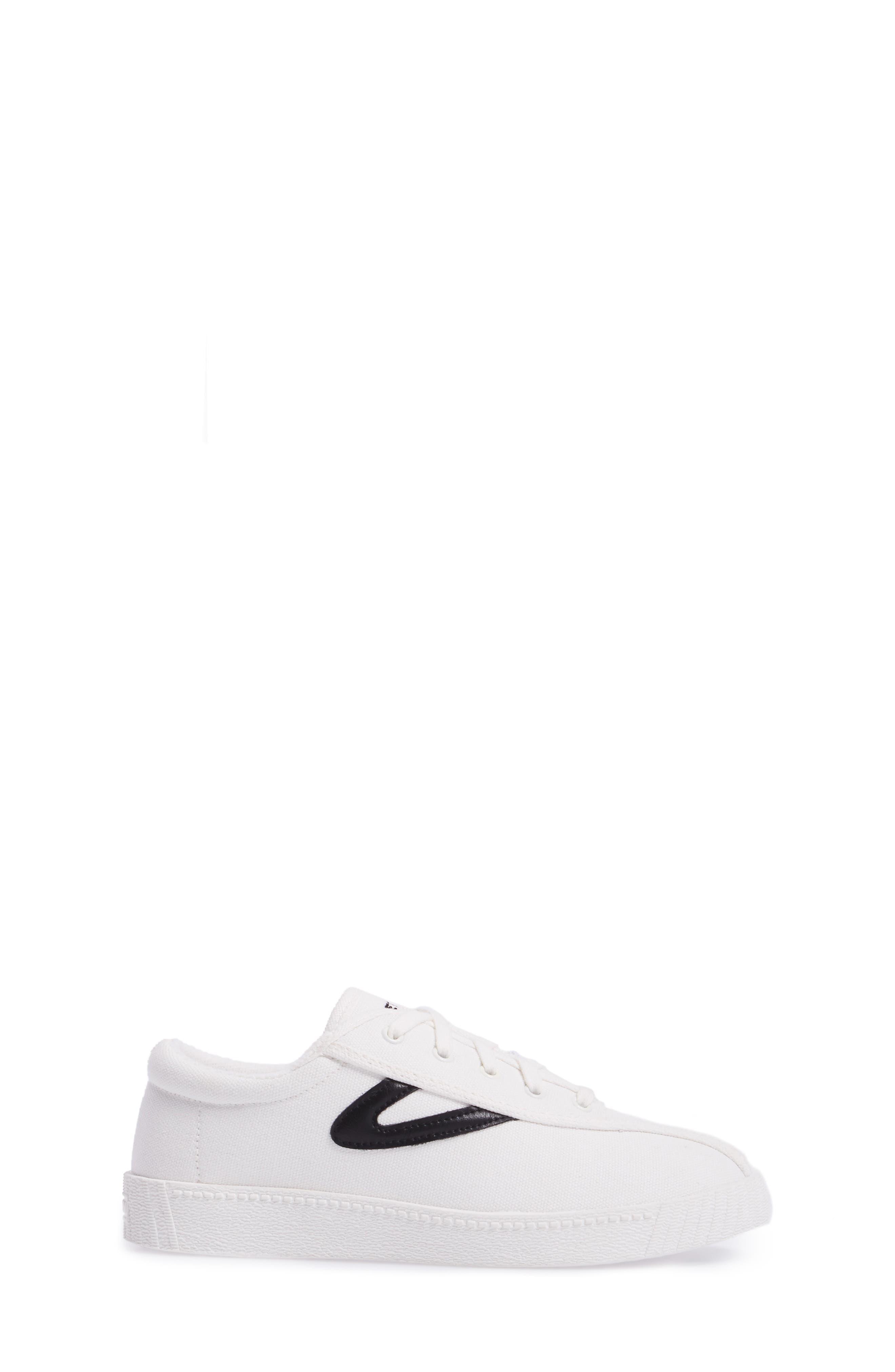 Nylite Plus Sneaker,                             Alternate thumbnail 3, color,                             White/ Black