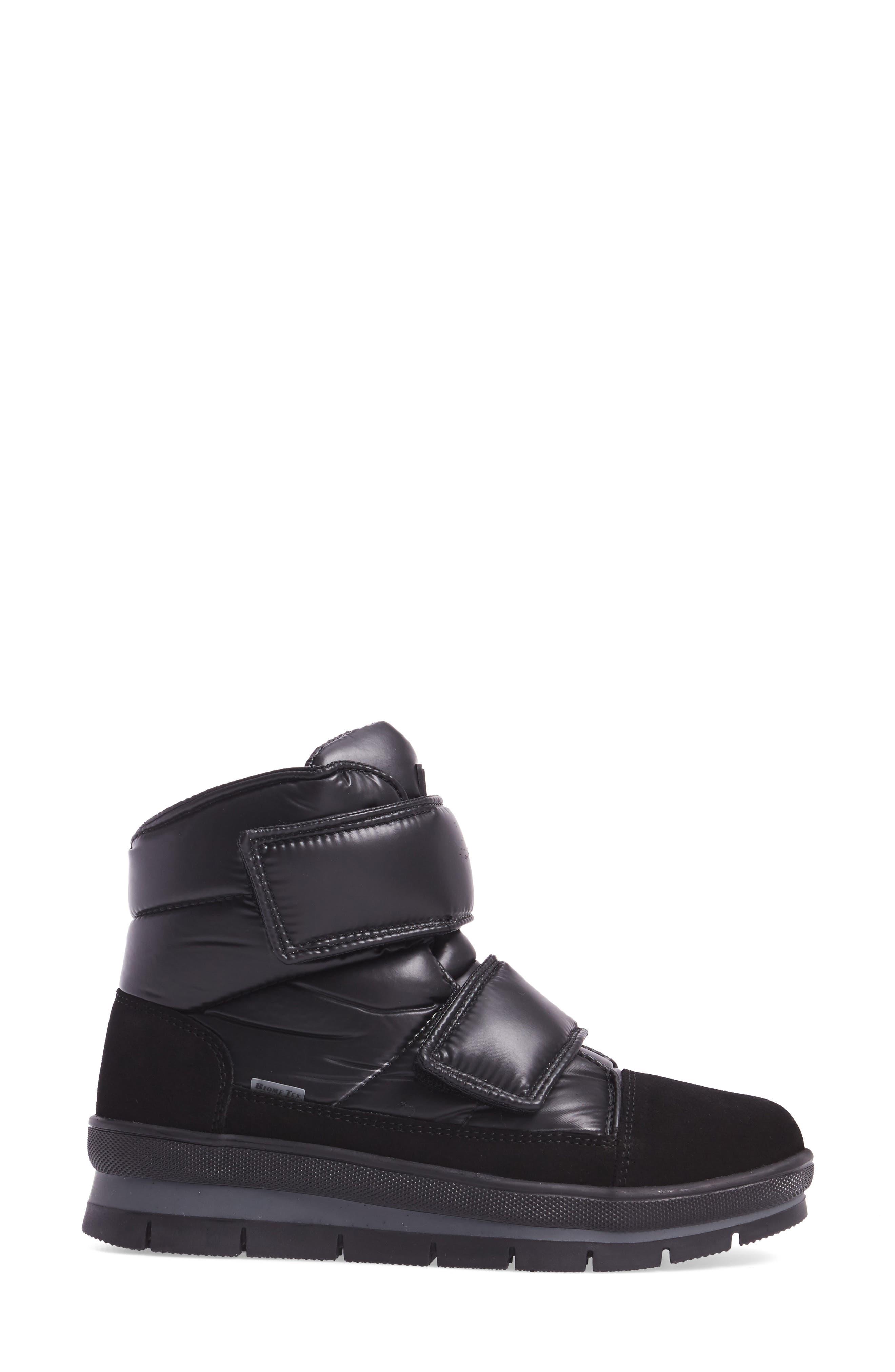 Gran Sasso Waterproof Boot,                             Alternate thumbnail 3, color,                             Black Baltico