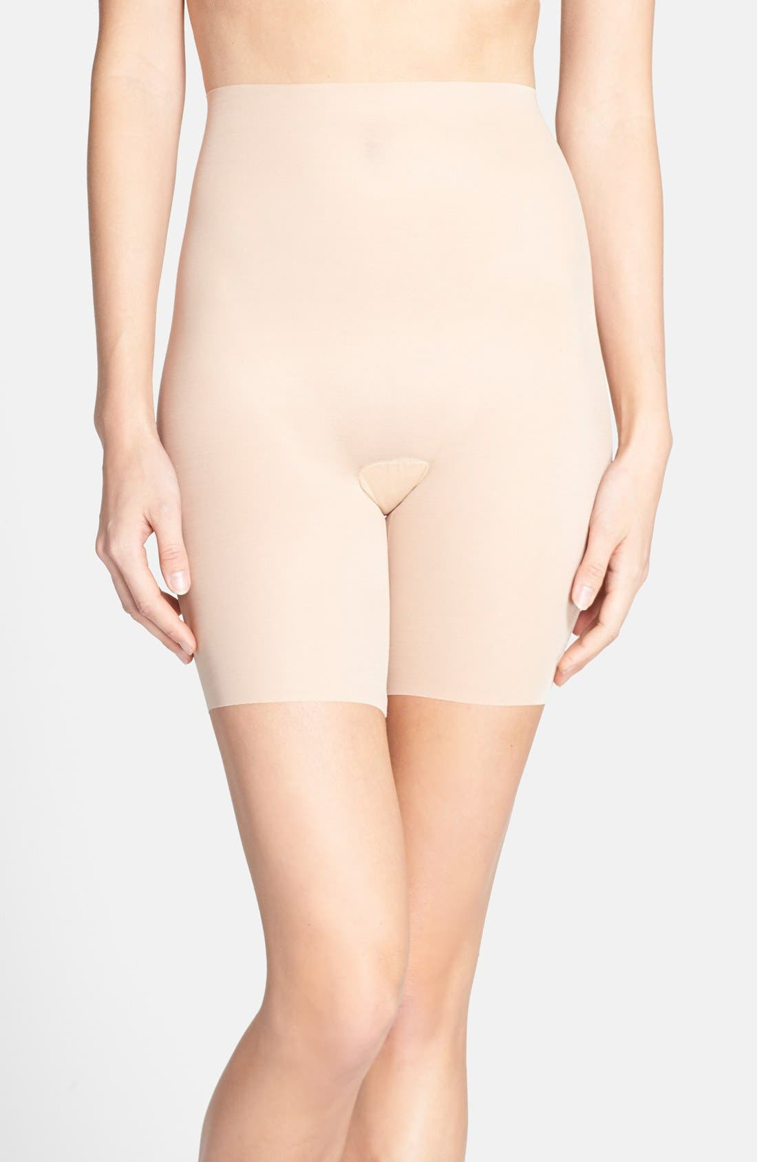 Featherlight Control Shorts,                         Main,                         color, Nude