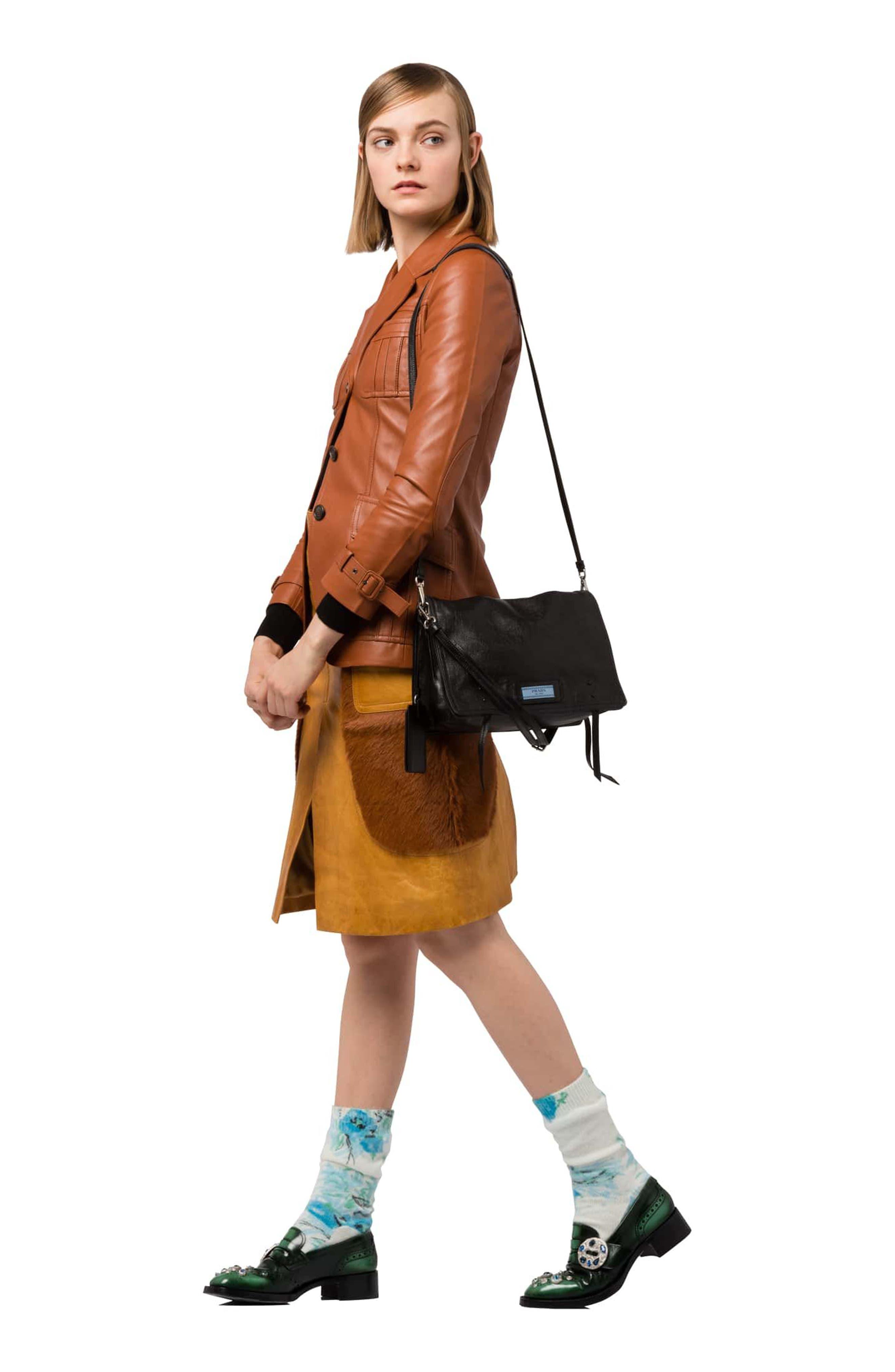 Alternate Image 2  - Prada Cahier Glace Messenger Bag