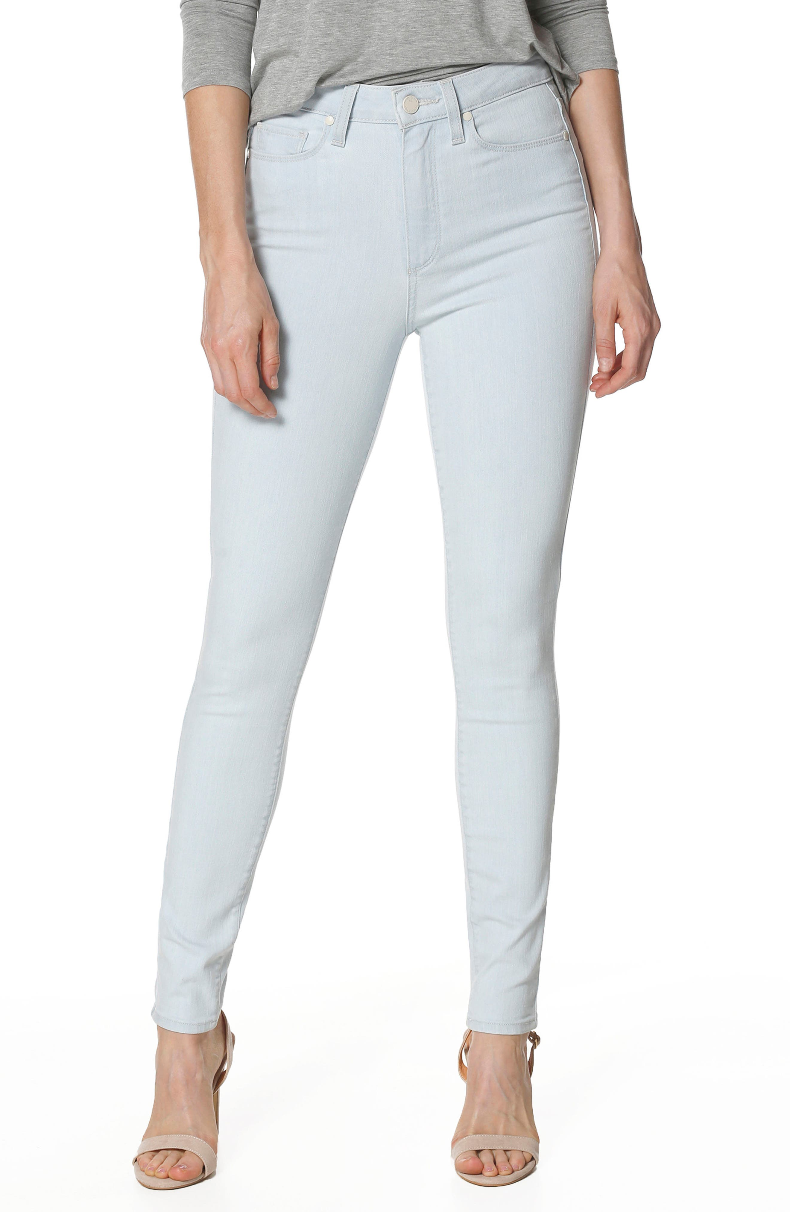 Alternate Image 1 Selected - PAIGE Margot High Waist Ultra Skinny Jeans (Kelso)