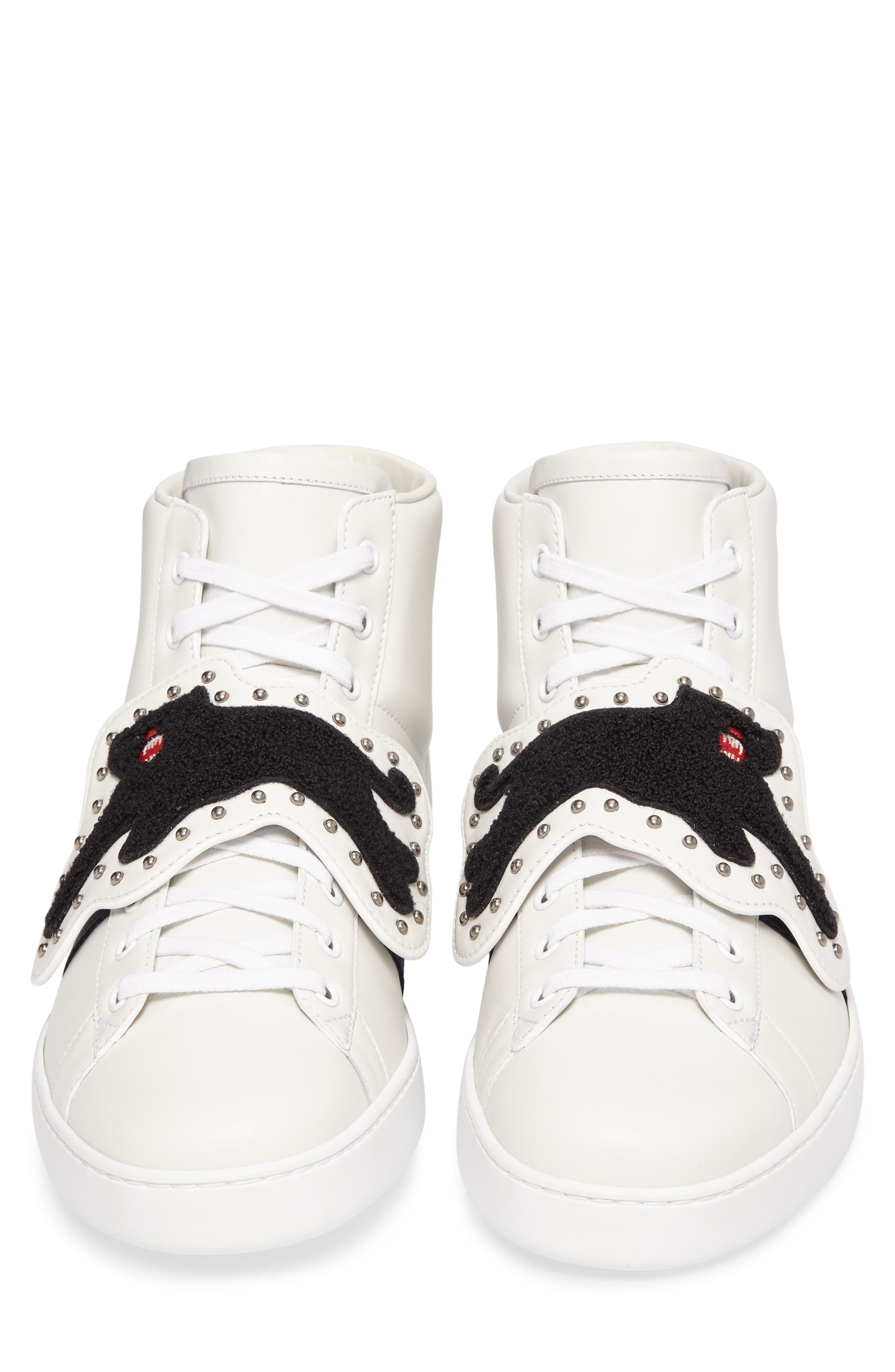 Alternate Image 4  - Gucci New Ace Hi Panther Sneaker (Men)