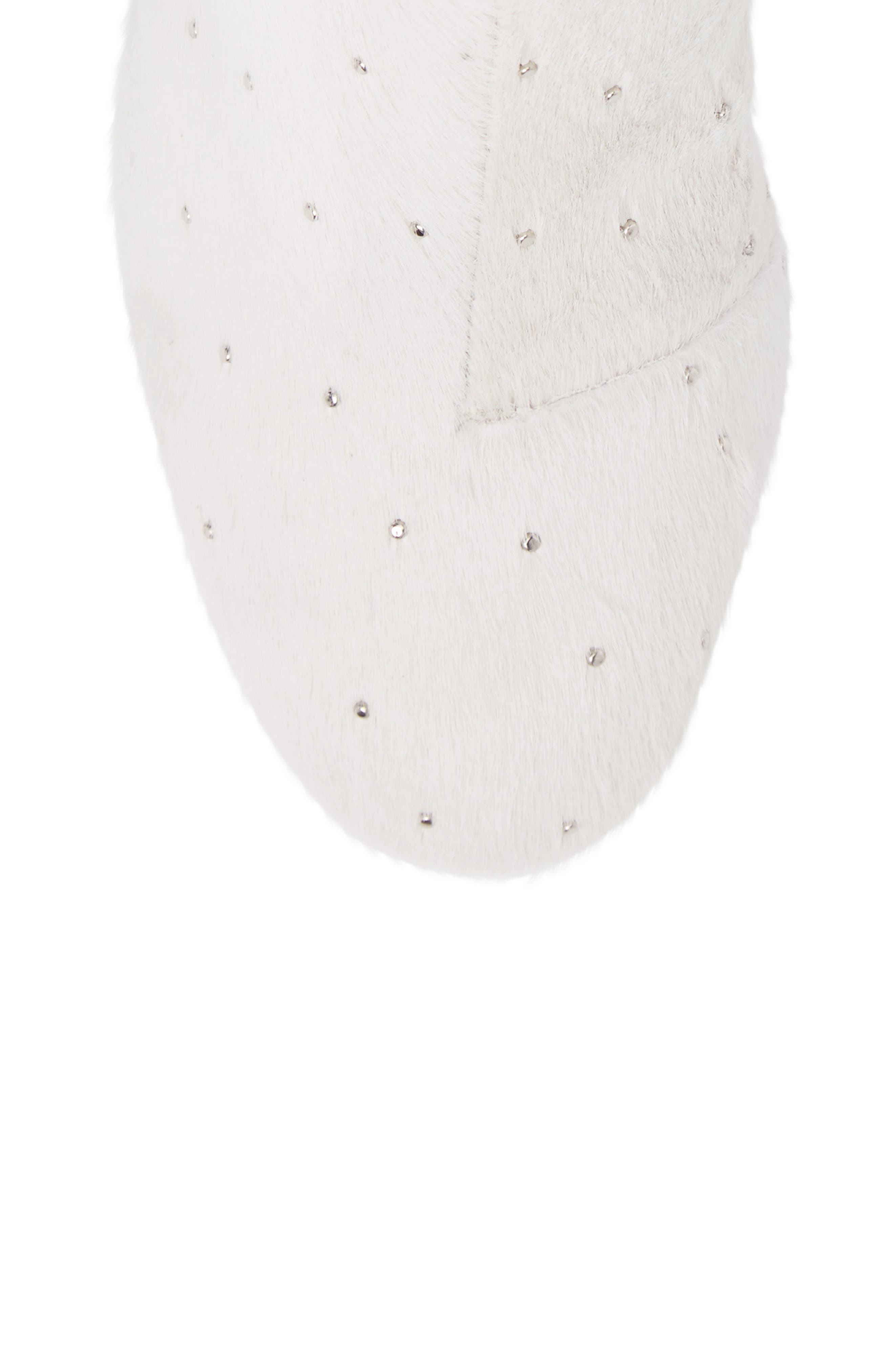 Alternate Image 5  - rag & bone Drea Genuine Calf Hair Block Heel Bootie (Women)