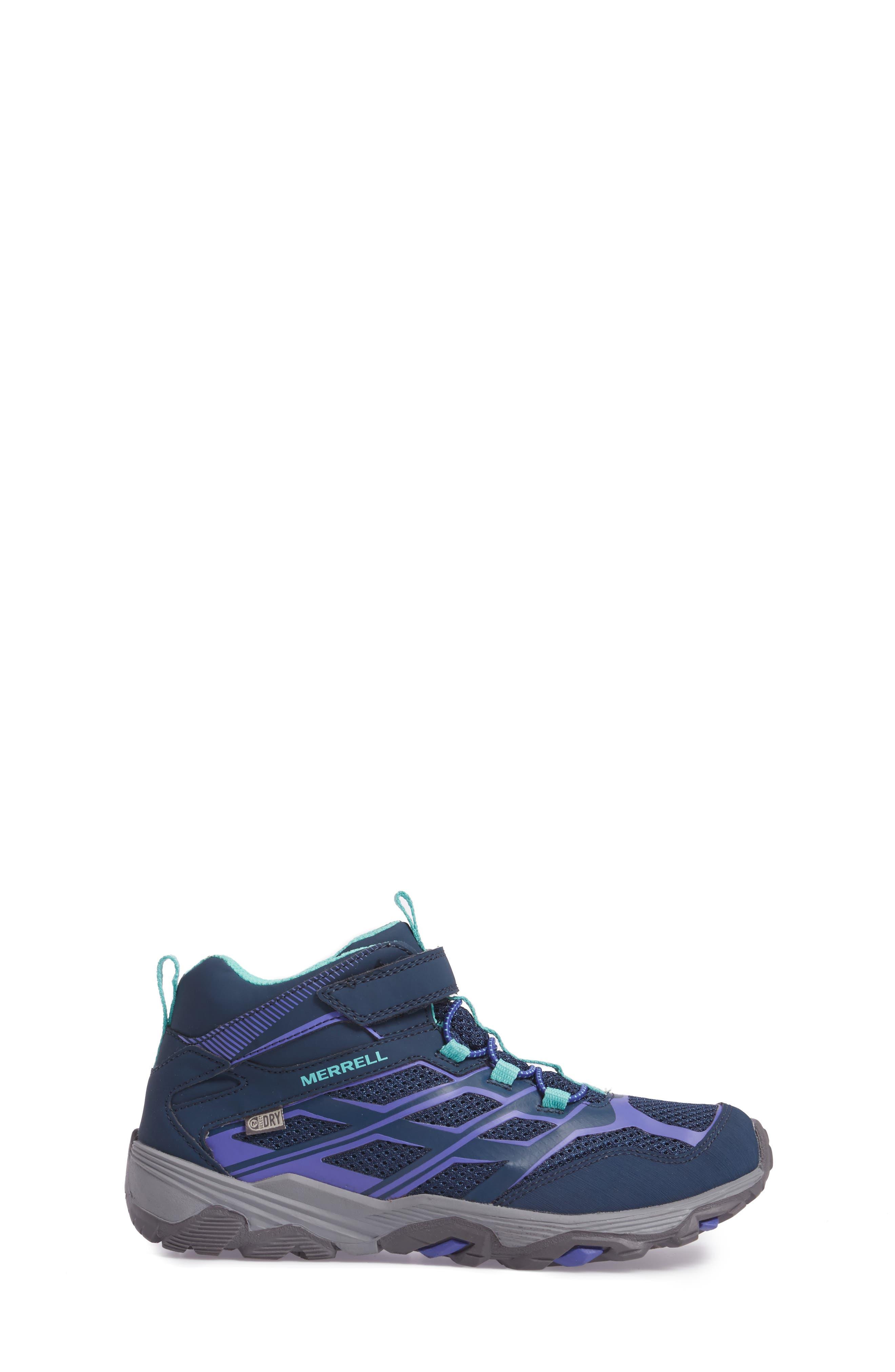 Alternate Image 3  - Merrell Moab FST Polar Mid Insulated Waterproof Sneaker Boot (Baby, Walker, Toddler, Little Kid & Big Kid)