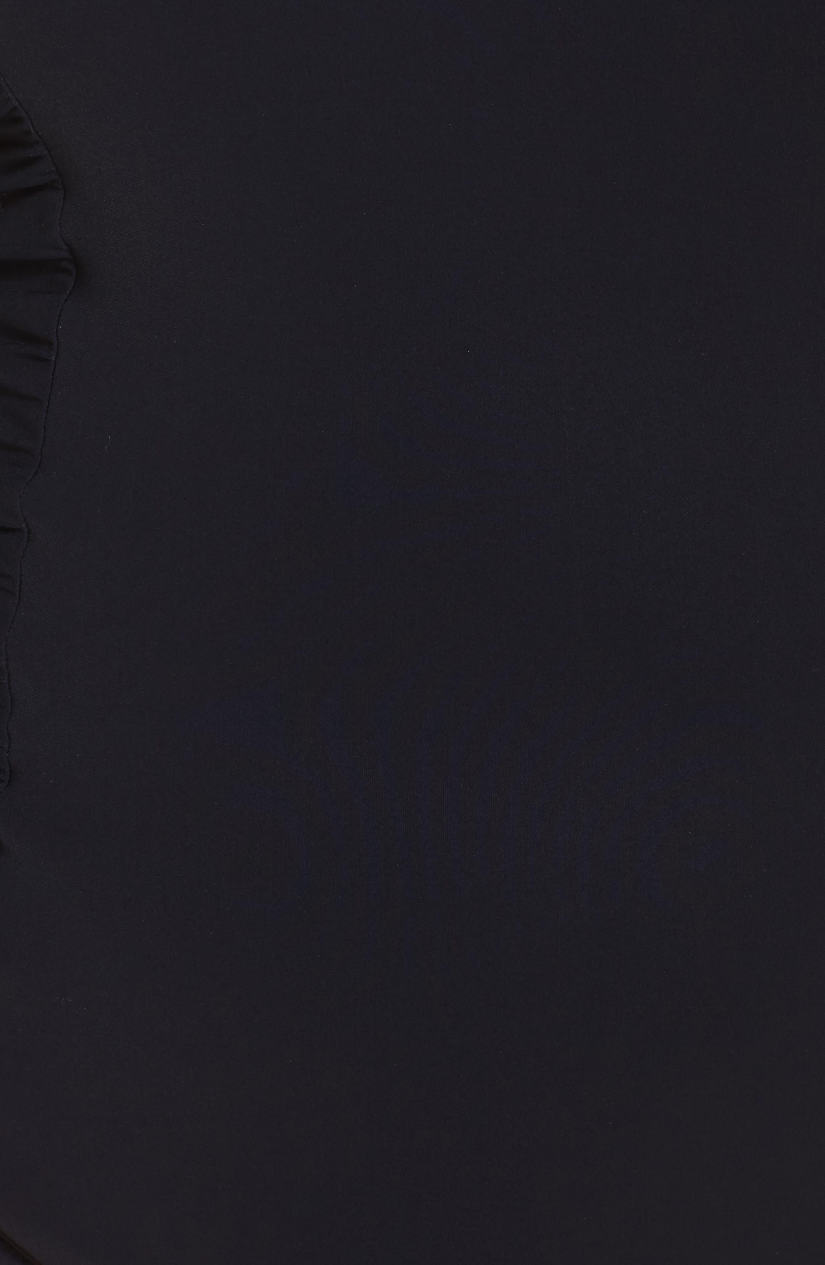 Alternate Image 5  - Profile by Gottex Cold Shoulder One-Piece Swimsuit (Plus Size)