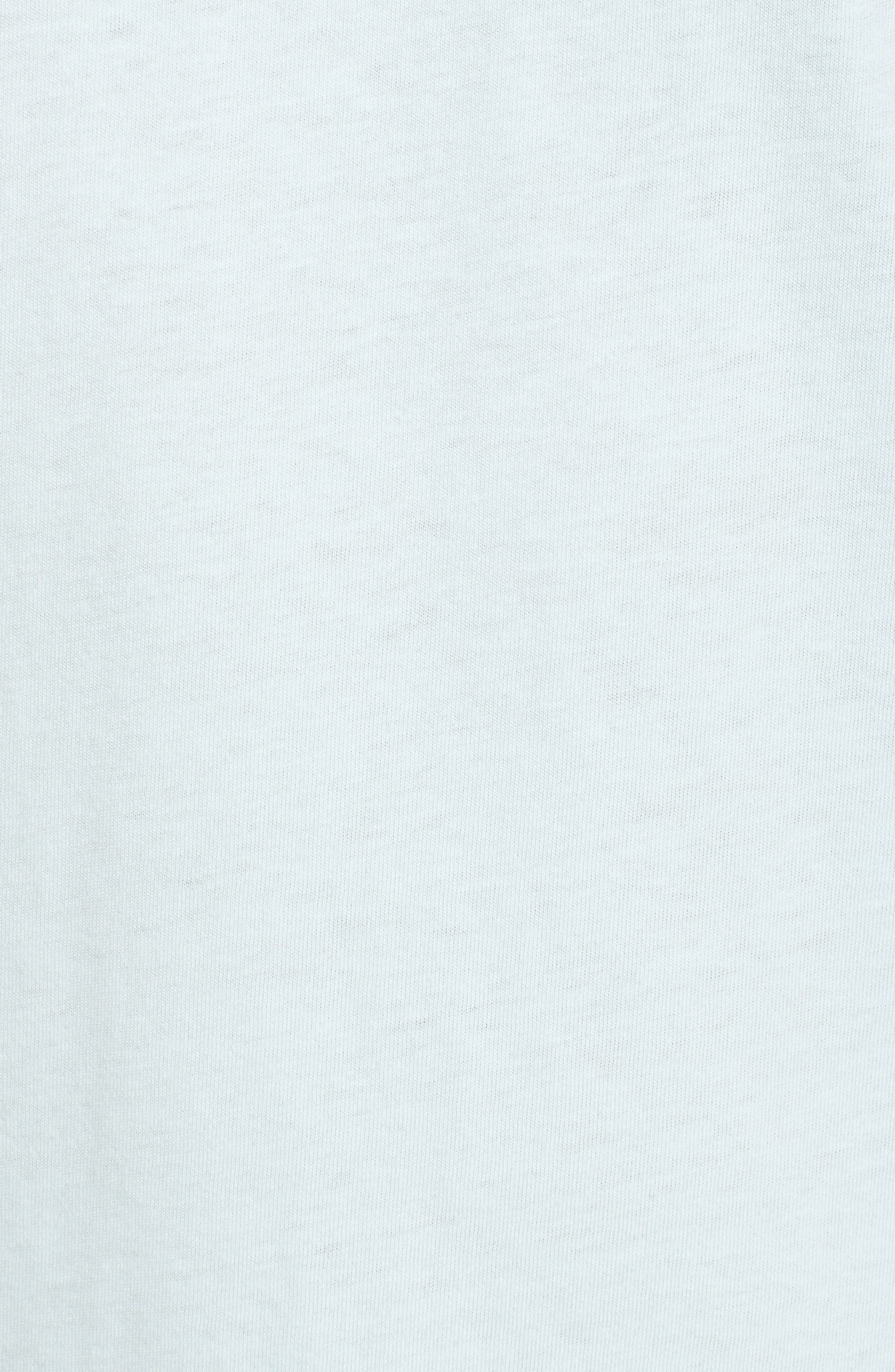 Die Cut Graphic T-Shirt,                             Alternate thumbnail 5, color,                             Coastal Blue