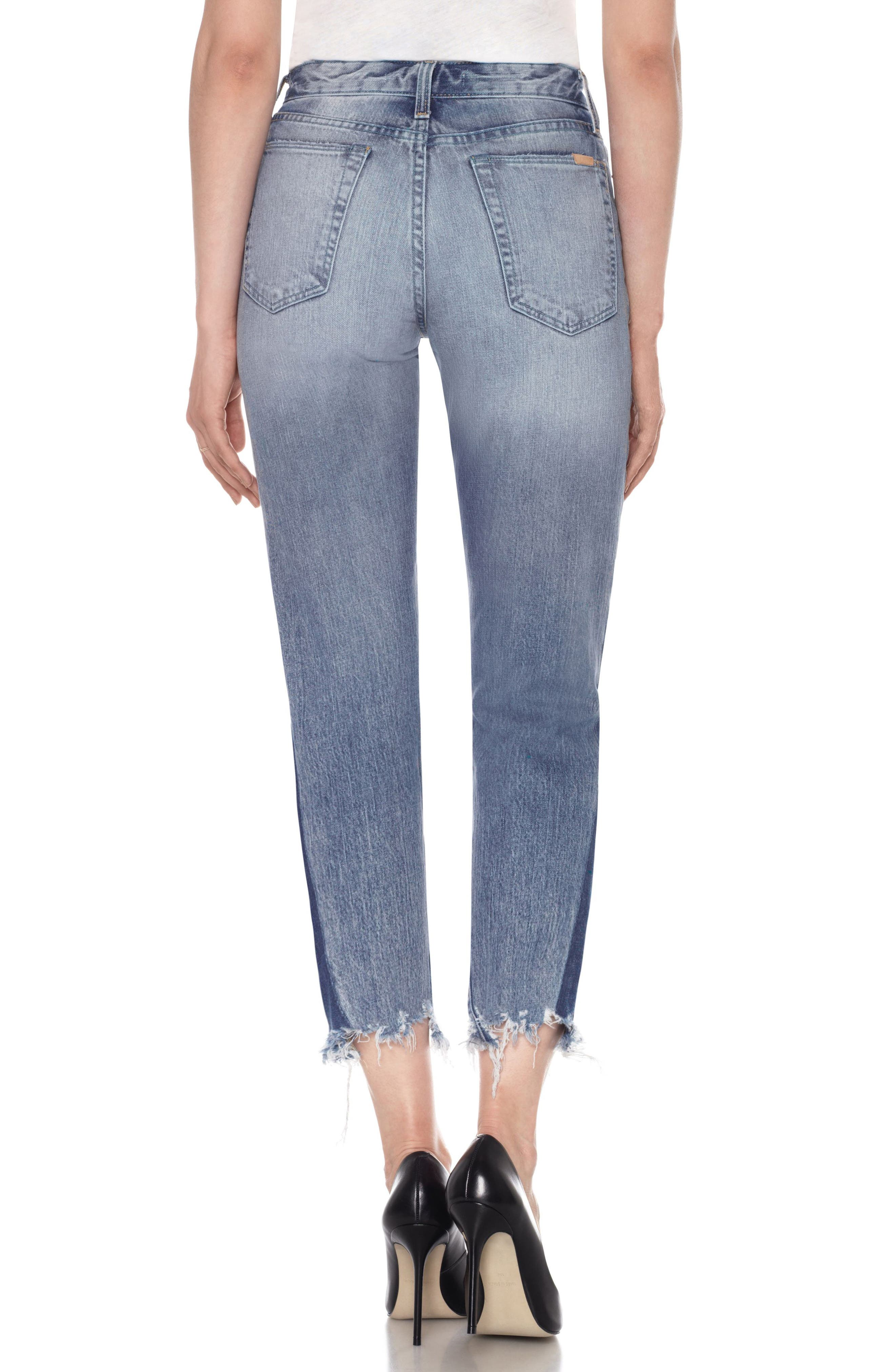 Alternate Image 3  - Joe's Smith Ankle Slim Boyfriend Jeans (Prairie)