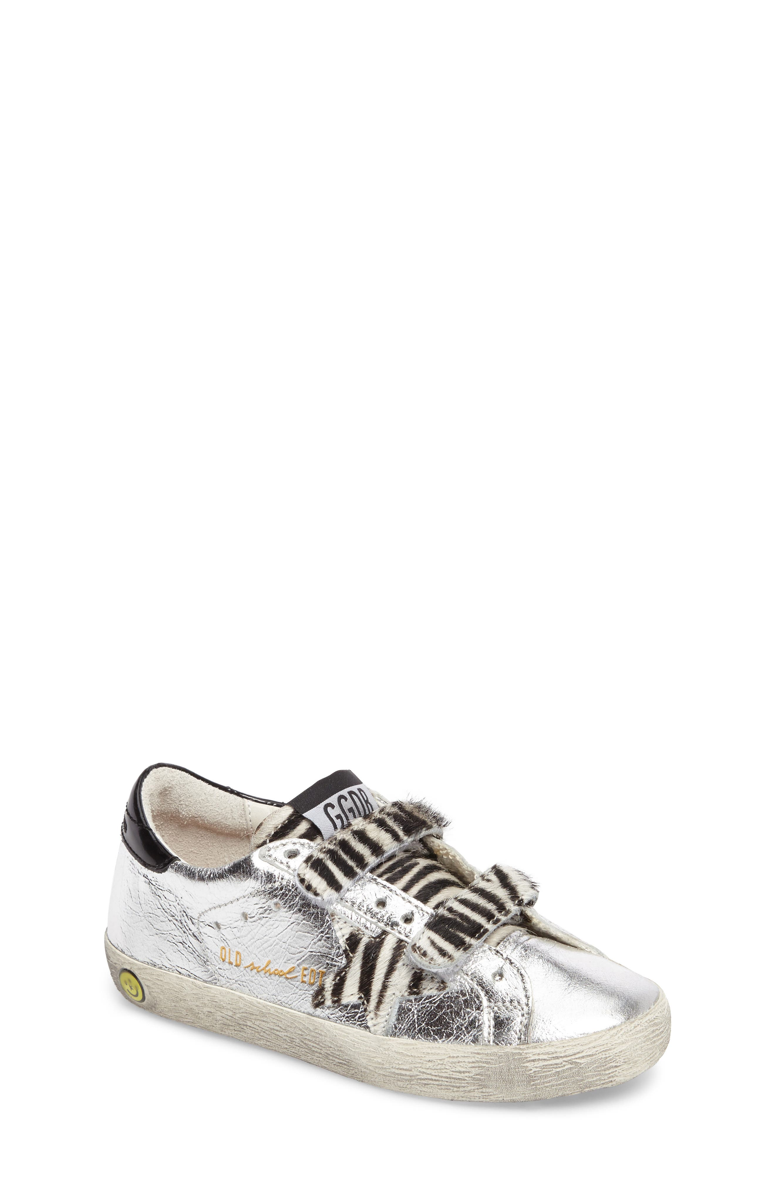 Superstar Old School Sneaker,                         Main,                         color, Silver Leather