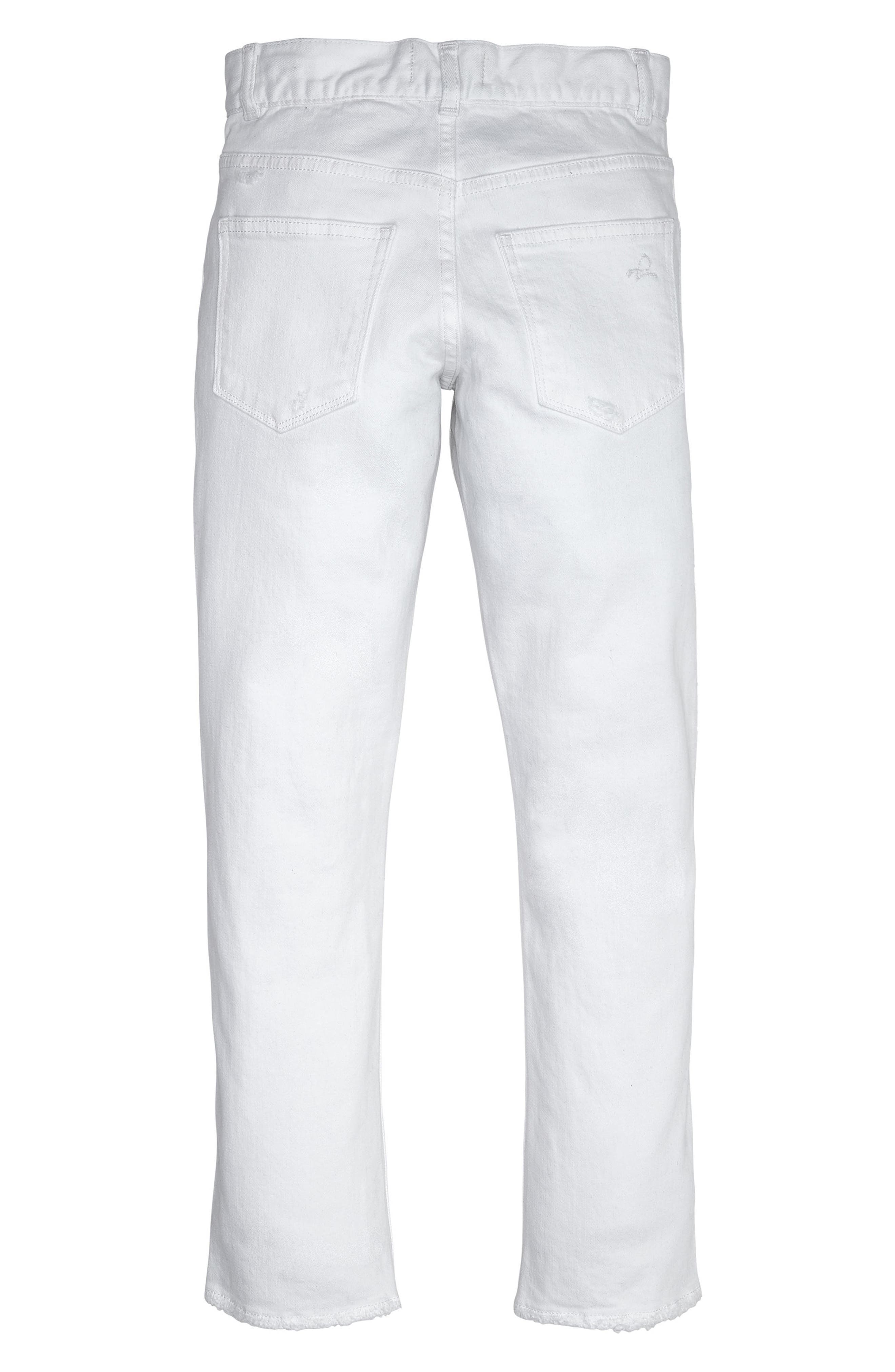 Brady Distressed Slim Fit Jeans,                             Alternate thumbnail 2, color,                             Bulletproof