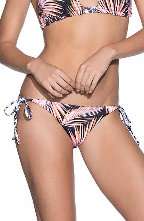 Maaji Choco Chocolate Signature Cut Reversible Bikini Bottoms