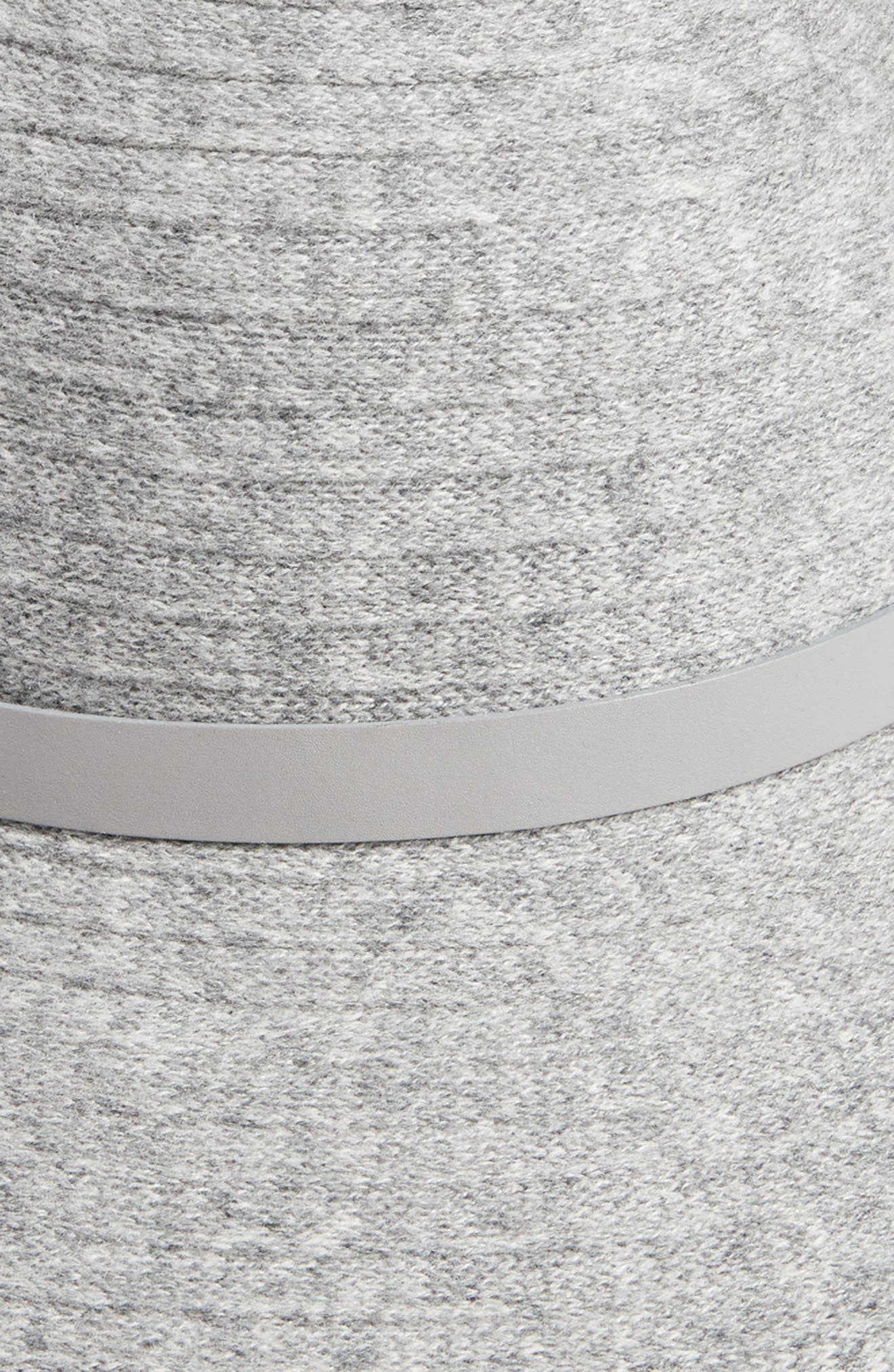 Packable Wool & Cashmere Hat,                             Alternate thumbnail 2, color,                             Iron/ Frost