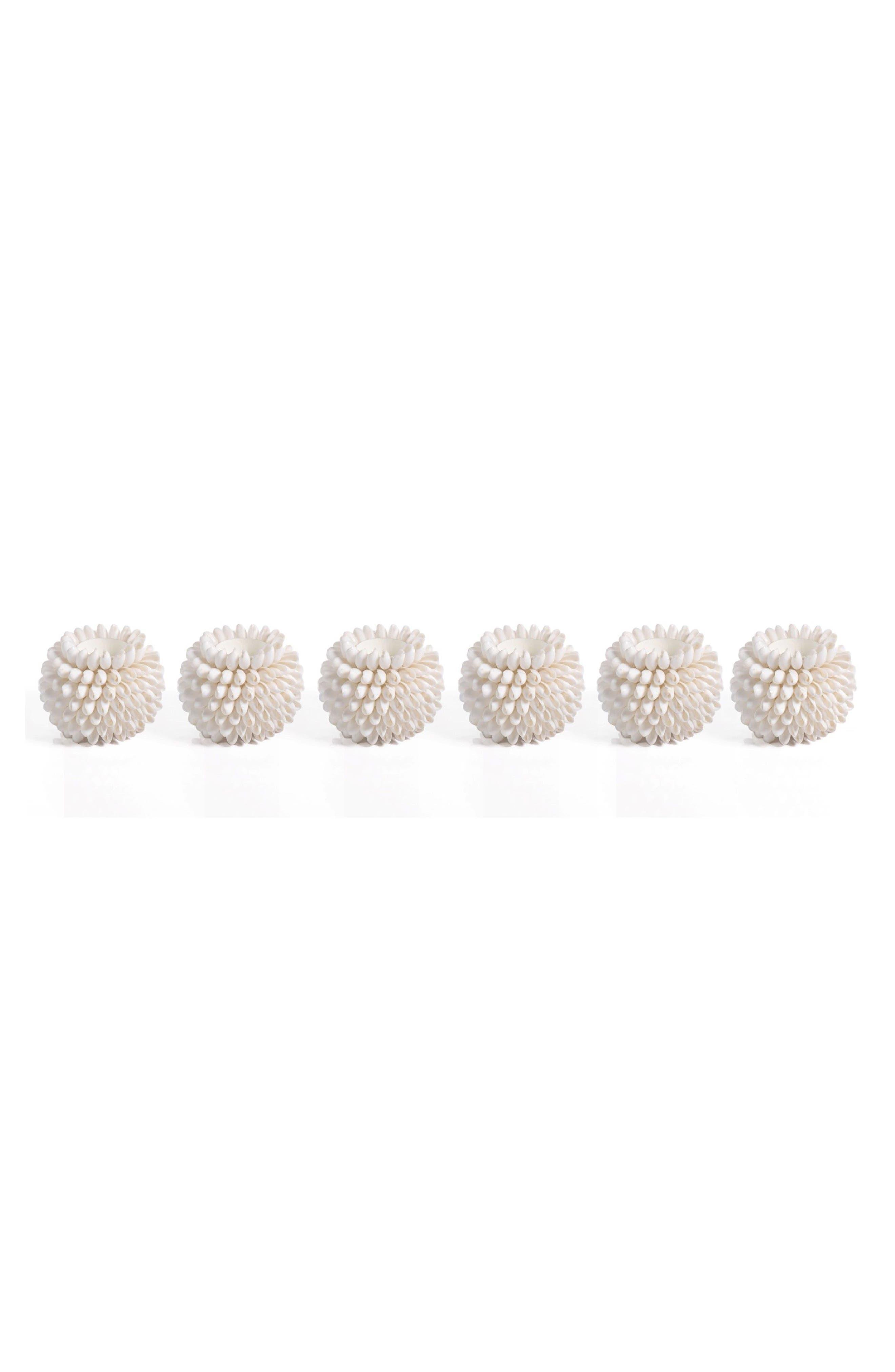 Main Image - Zodax Hydatina Physis Set of 6 Tealight Holders