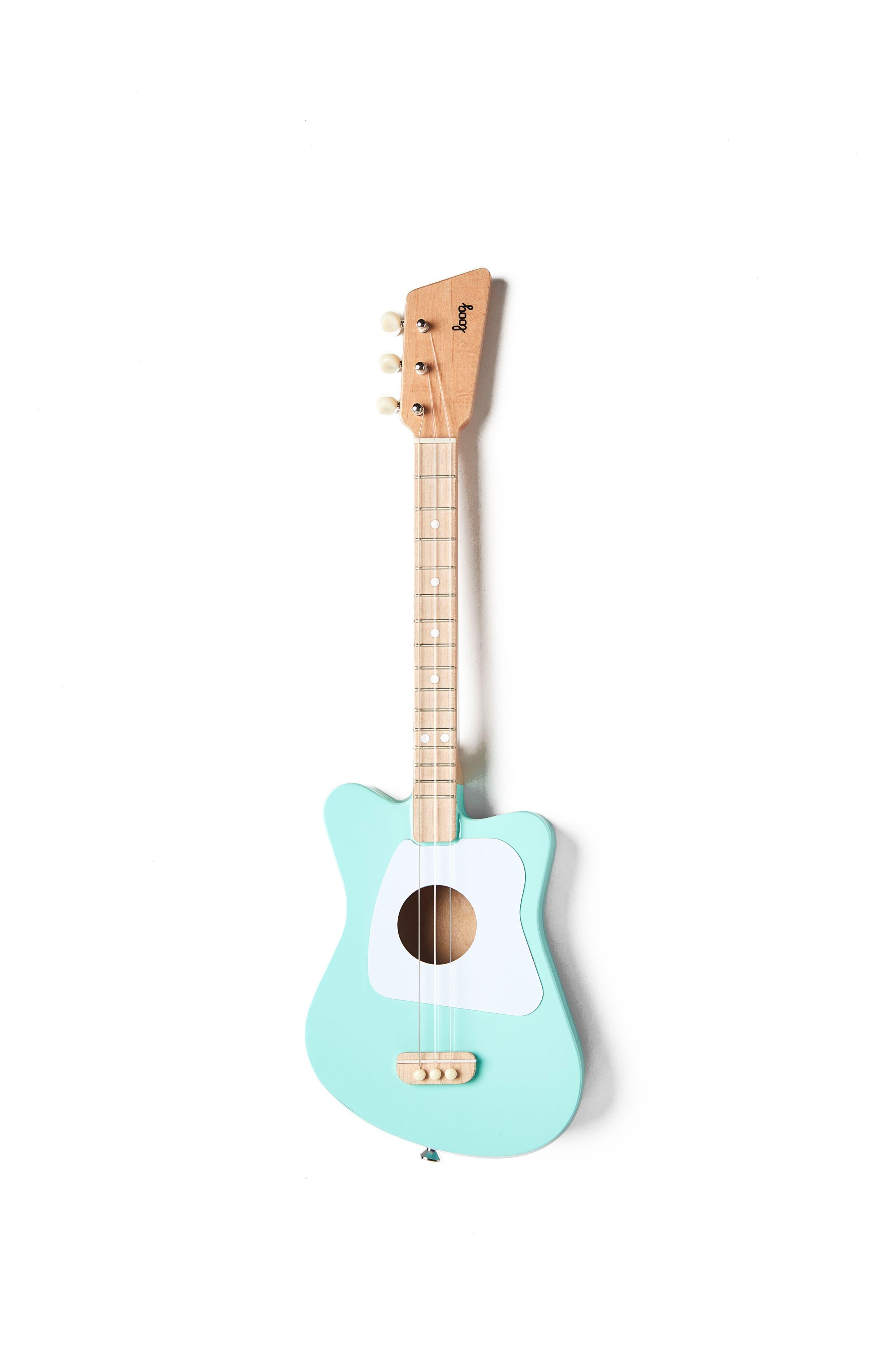 Loog Mini 3-String Wooden Guitar