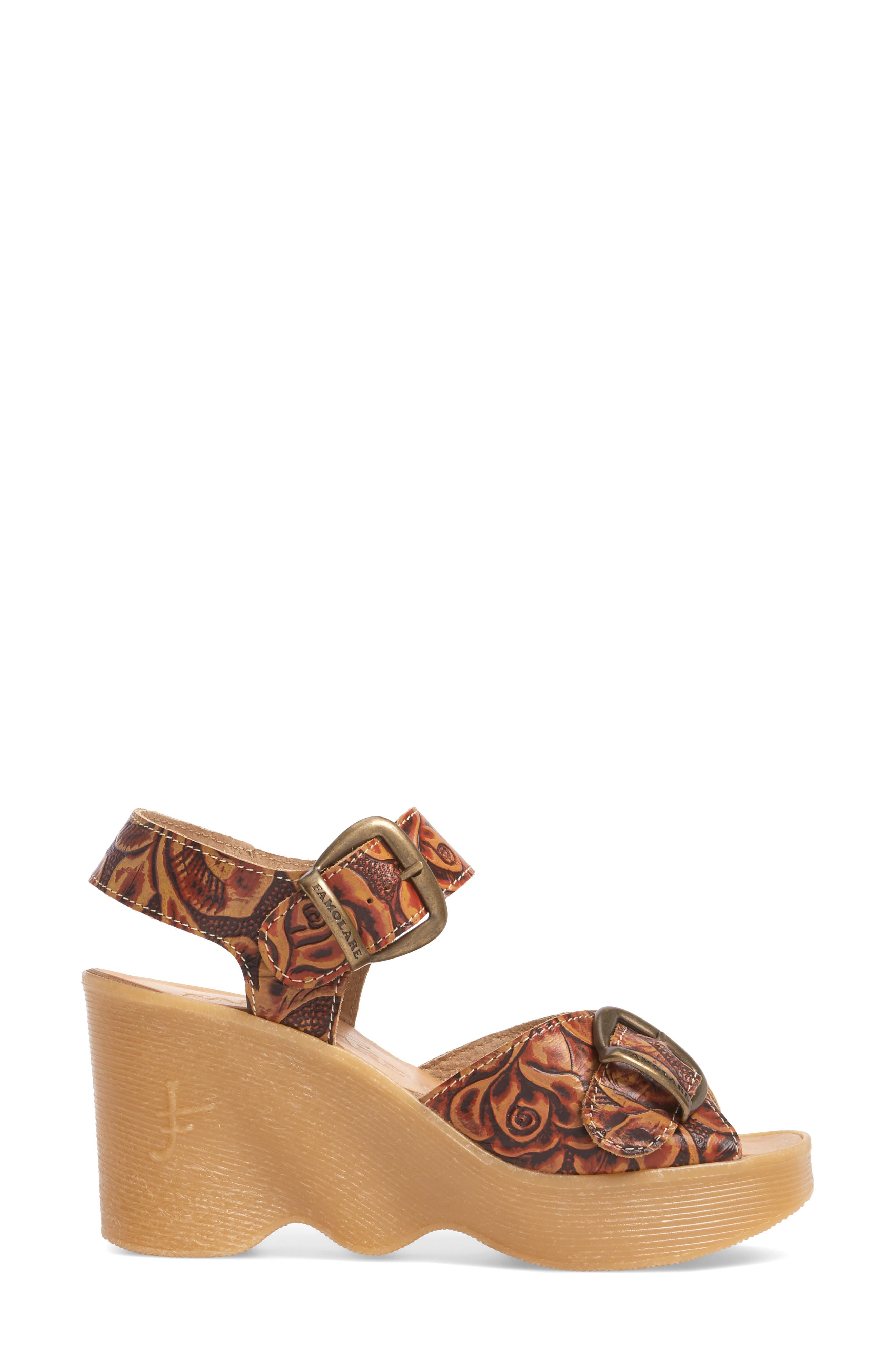 Alternate Image 3  - Famolare Double Vision Wedge Sandal (Women)