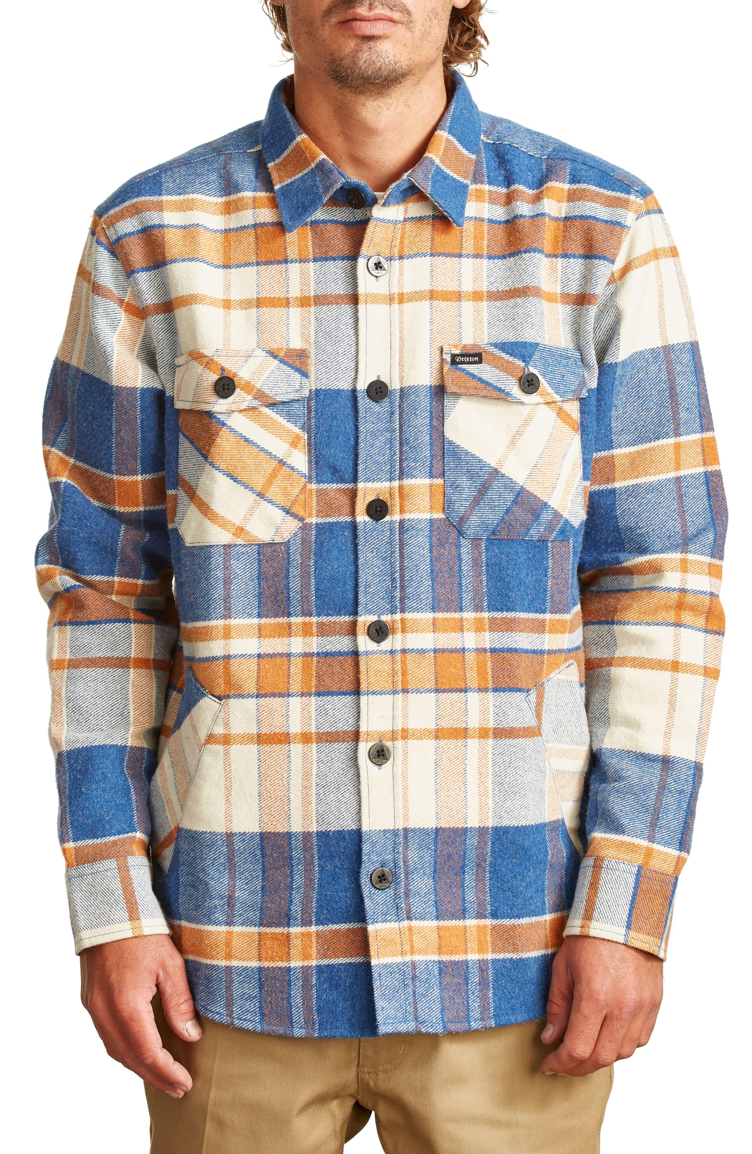 Alternate Image 1 Selected - Brixton Durham Flannel Shirt
