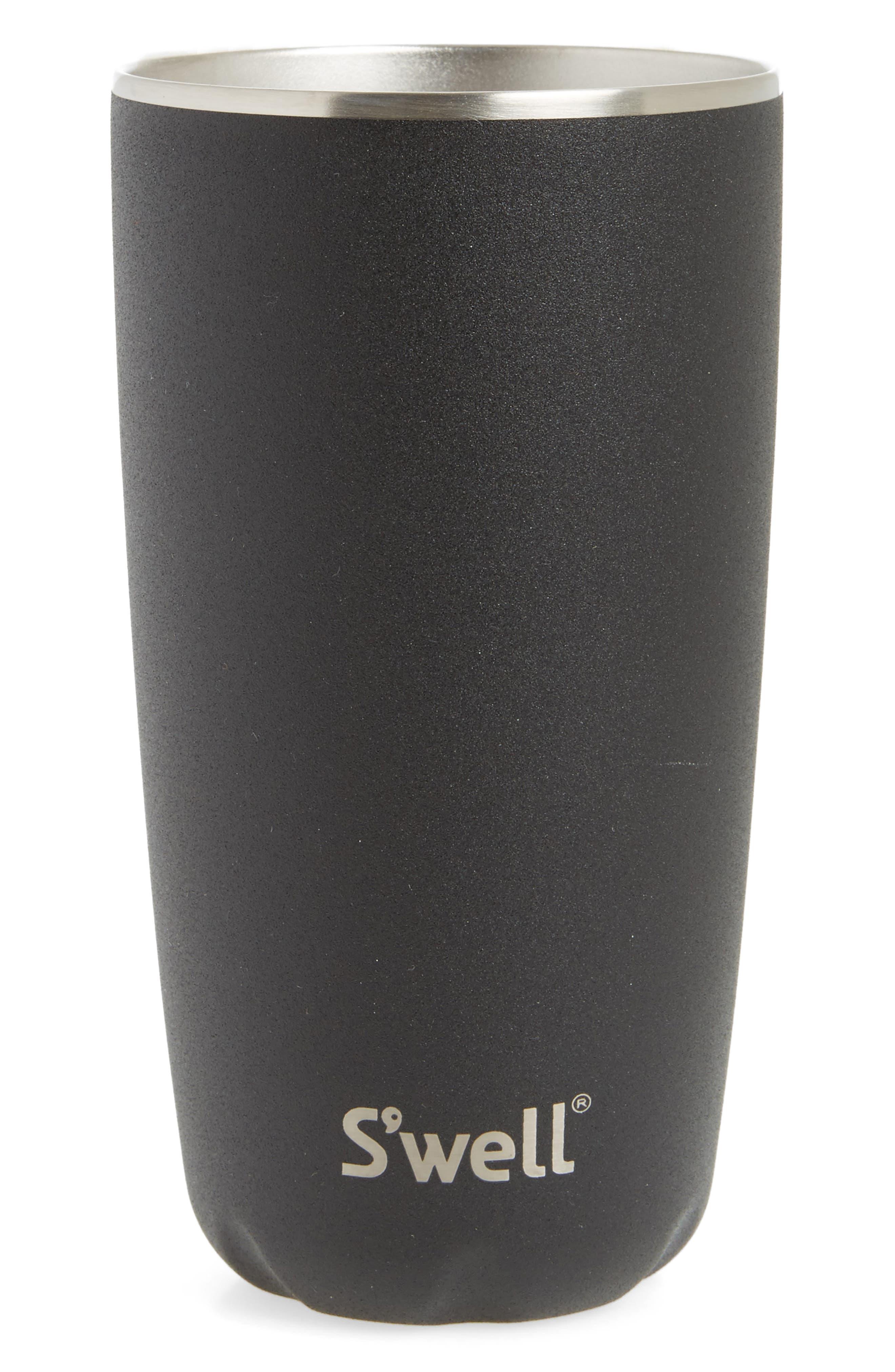 Onyx 18-Ounce Insulated Tumbler,                             Main thumbnail 1, color,                             Onyx
