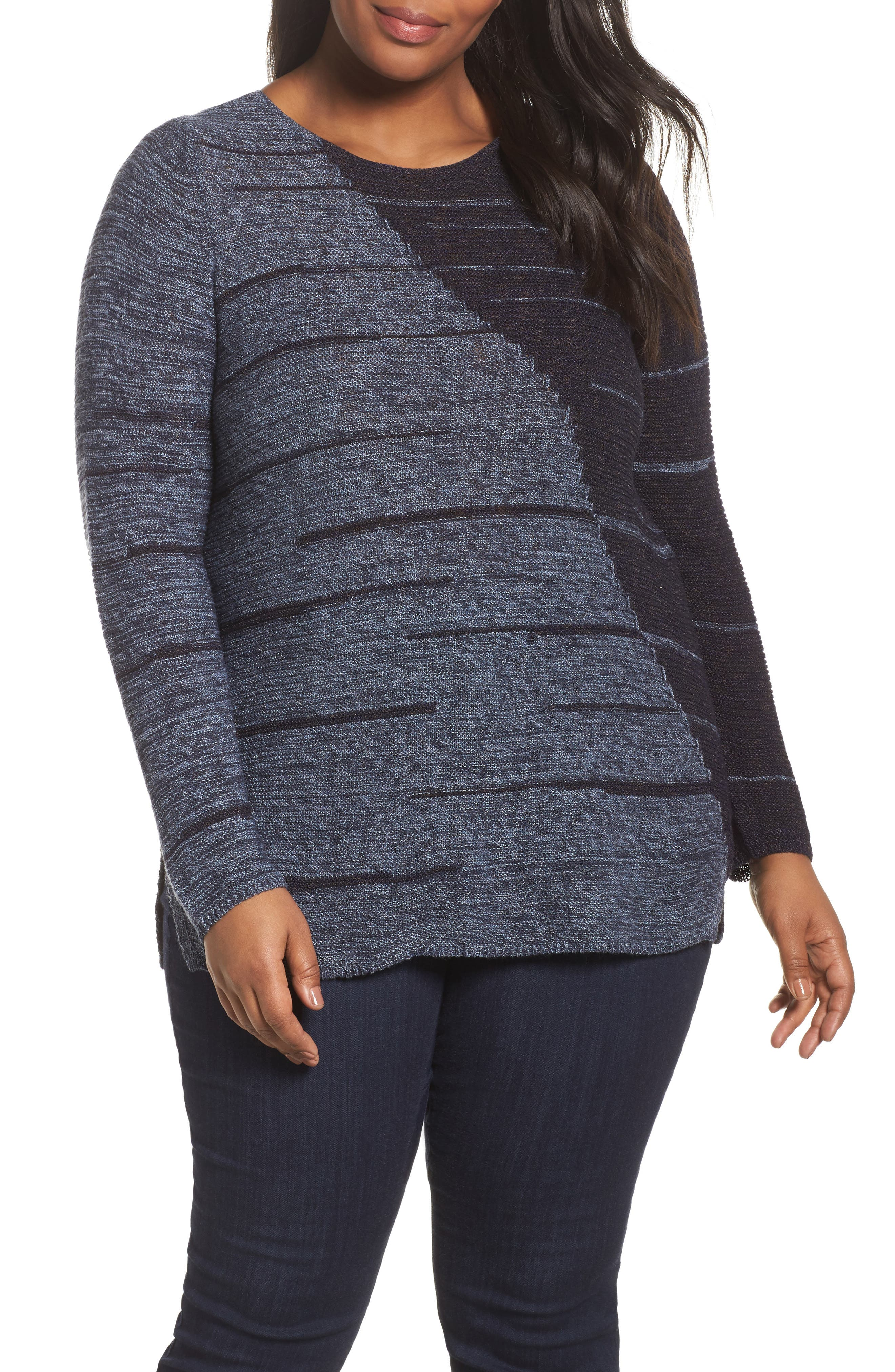 Main Image - NIC+ZOE New Reflections Top (Plus Size)