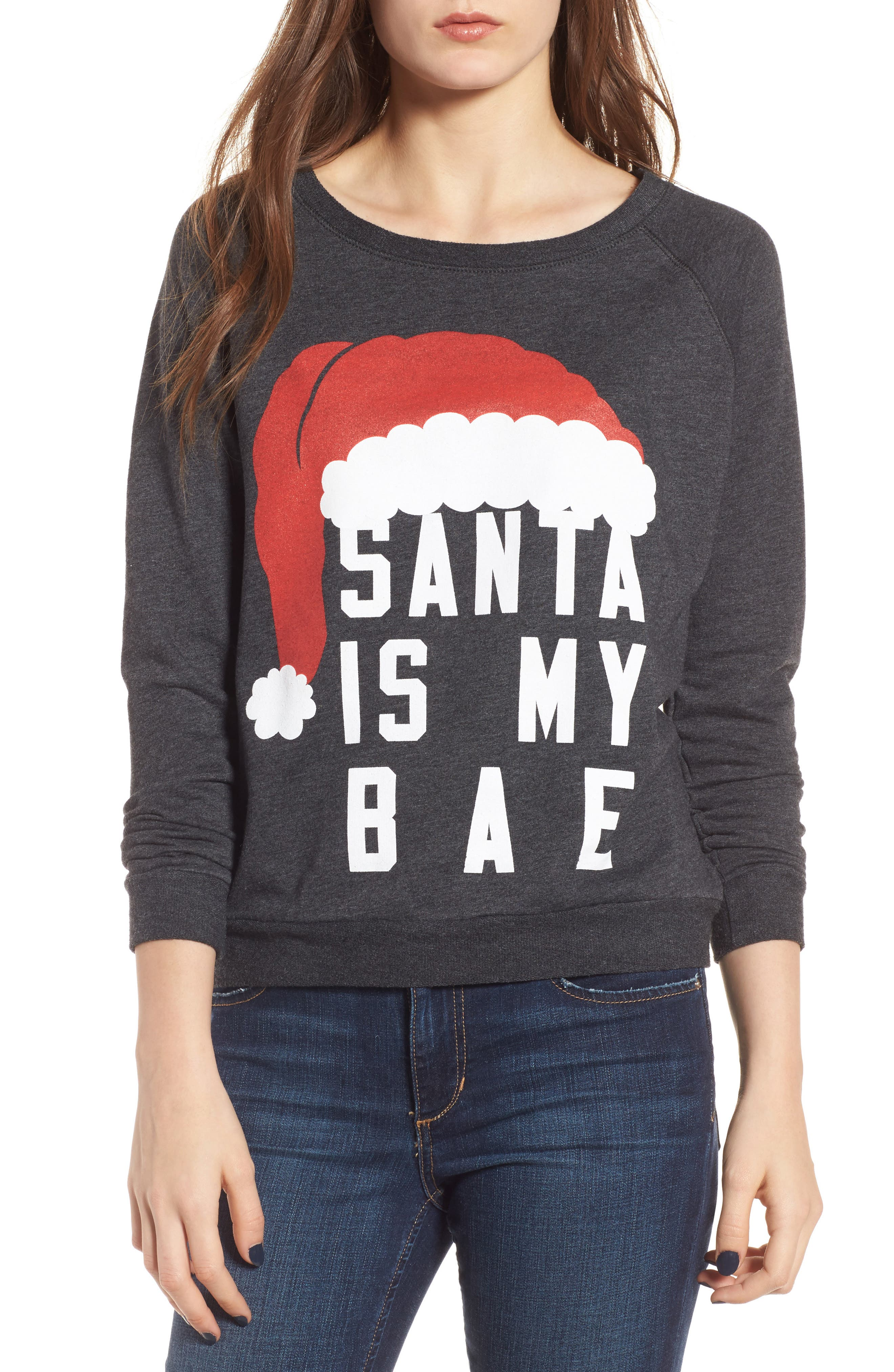 Alternate Image 1 Selected - Prince Peter Santa Is My Bae Pullover