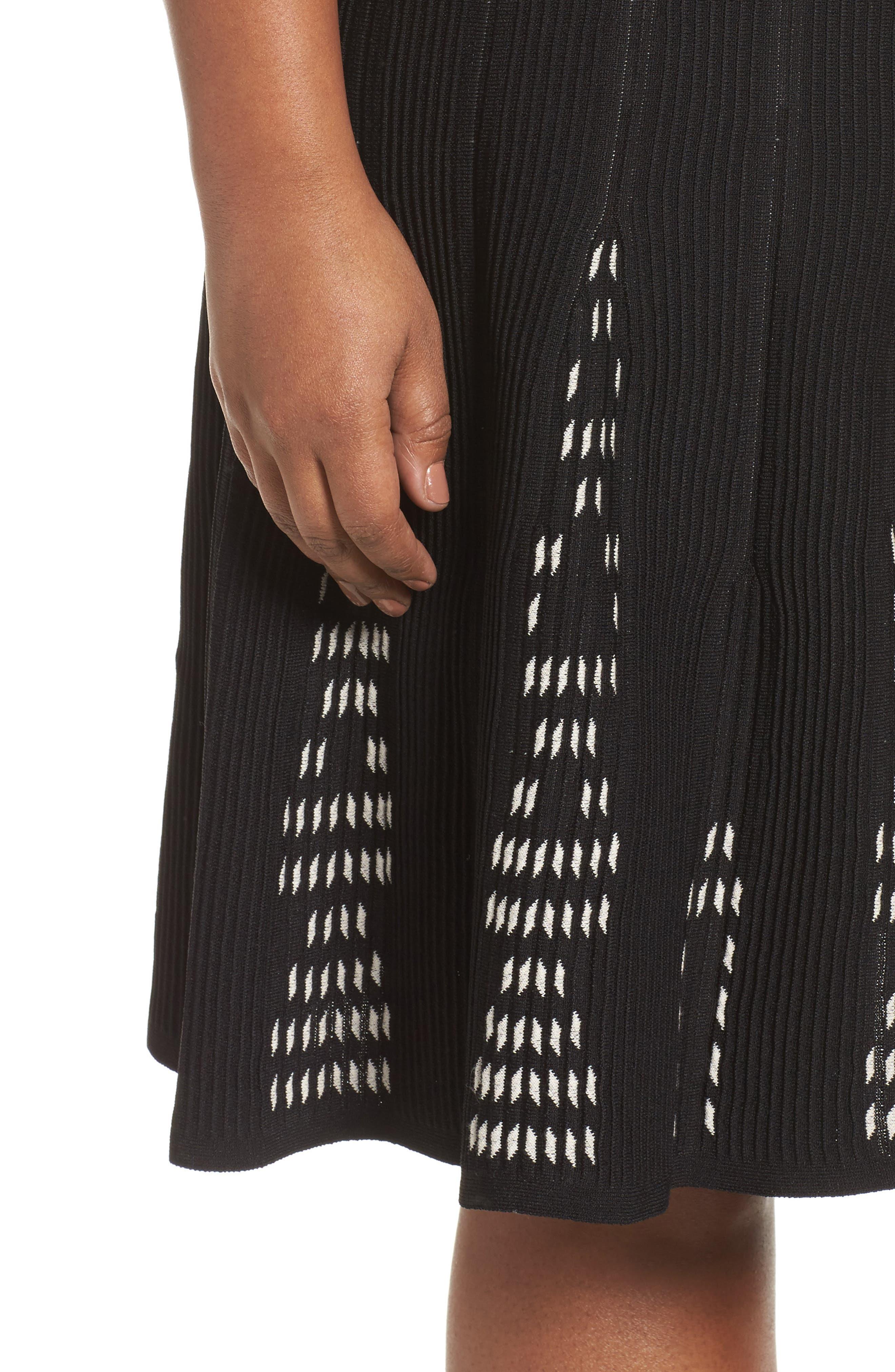 Alternate Image 4  - NIC+ZOE Hypnotic Twirl Skirt (Plus Size)