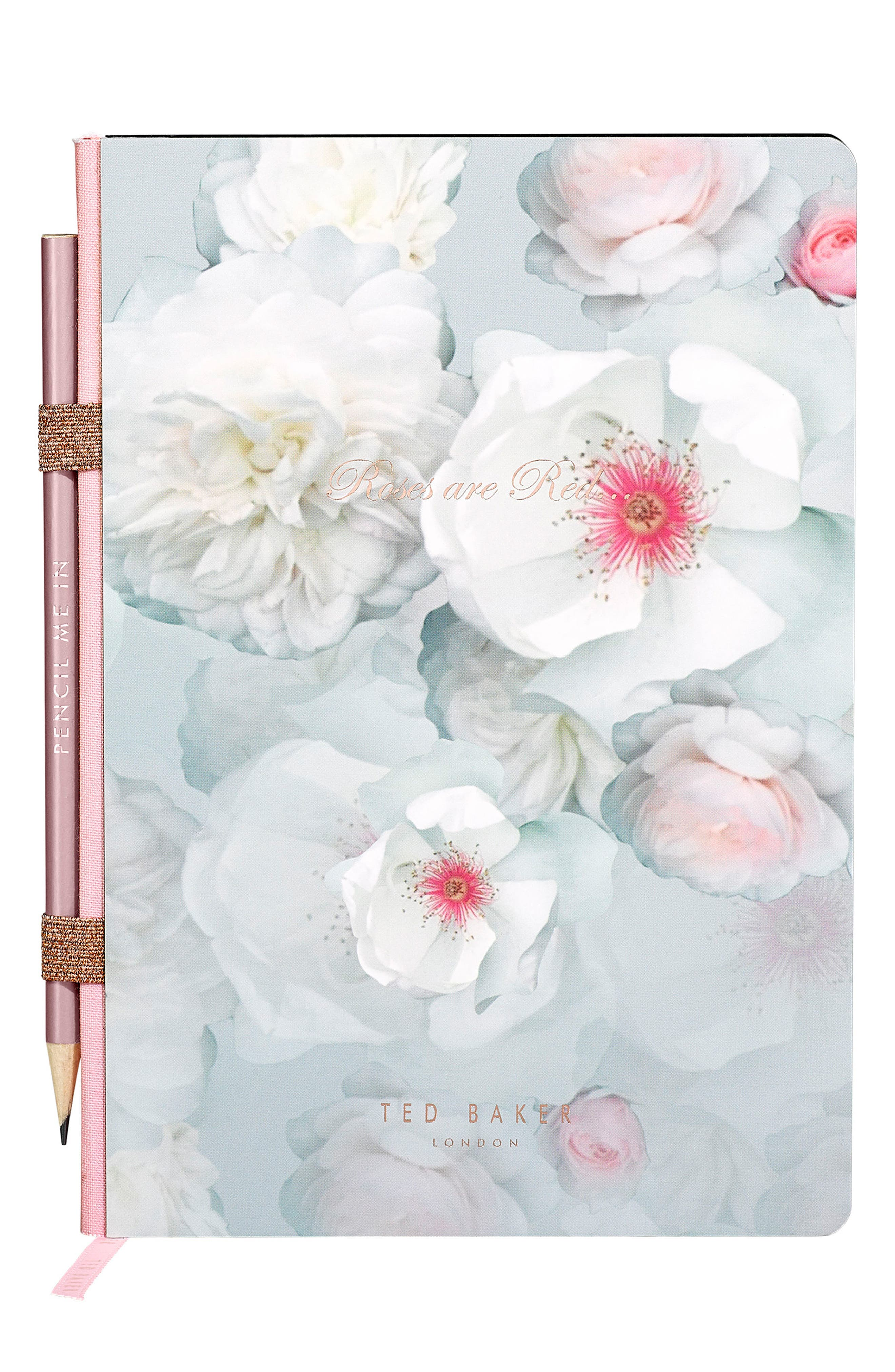 Alternate Image 1 Selected - Wild and Wolf x Ted Baker London In Ore of You Gemstone Notebook with Pencil