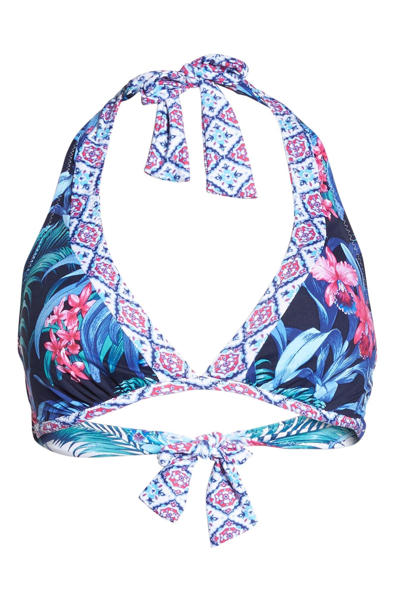 Alternate Image 6  - Tommy Bahama Majorelle Reversible Bikini Top