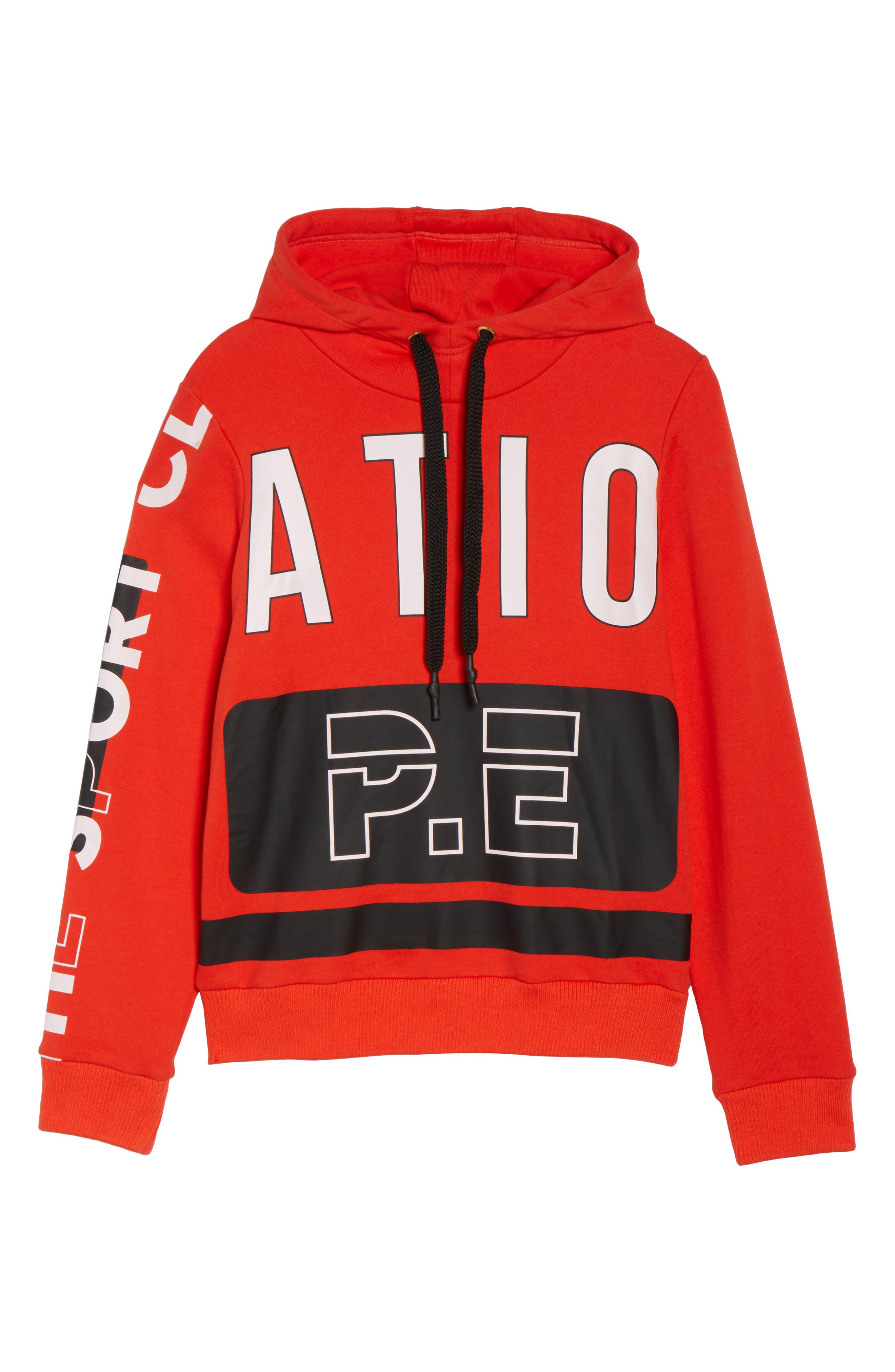 Free Hit Hooded Sweatshirt,                             Alternate thumbnail 6, color,                             Red