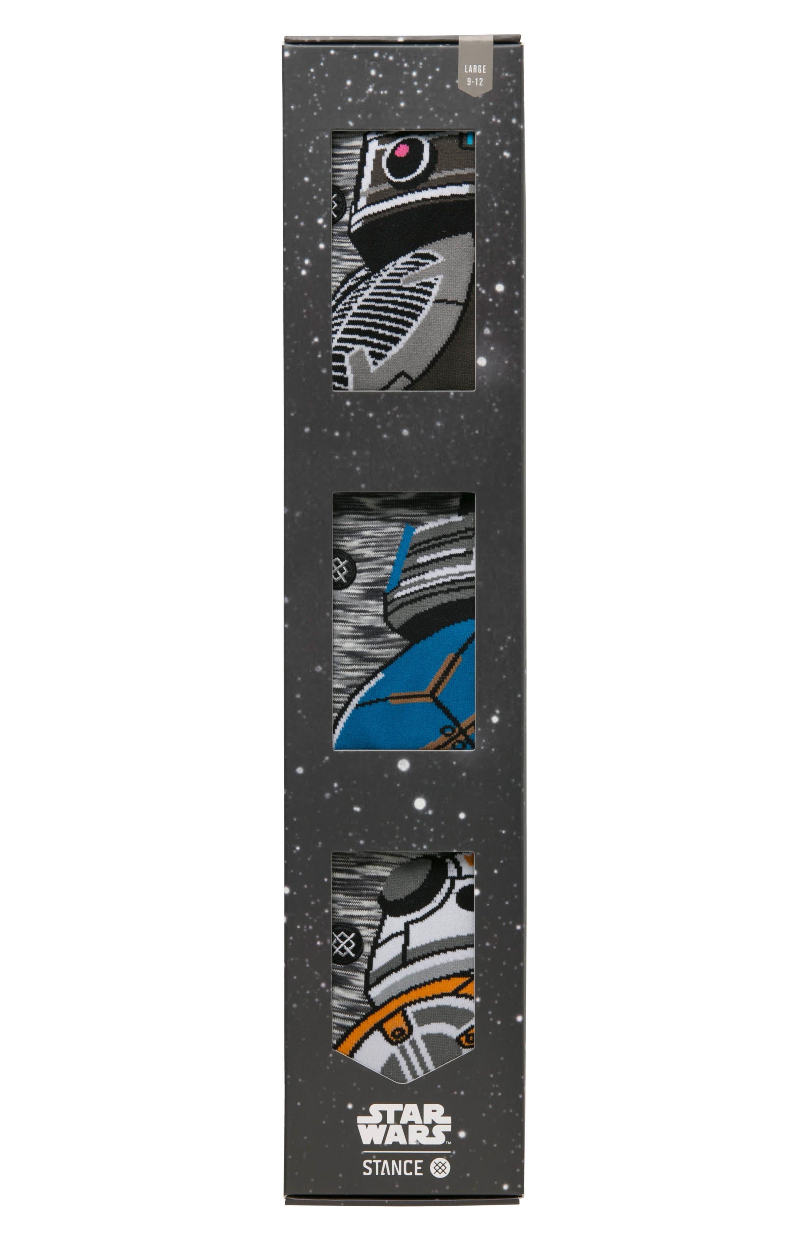 Alternate Image 2  - Stance Star Wars™ Droid 3-Pack Socks