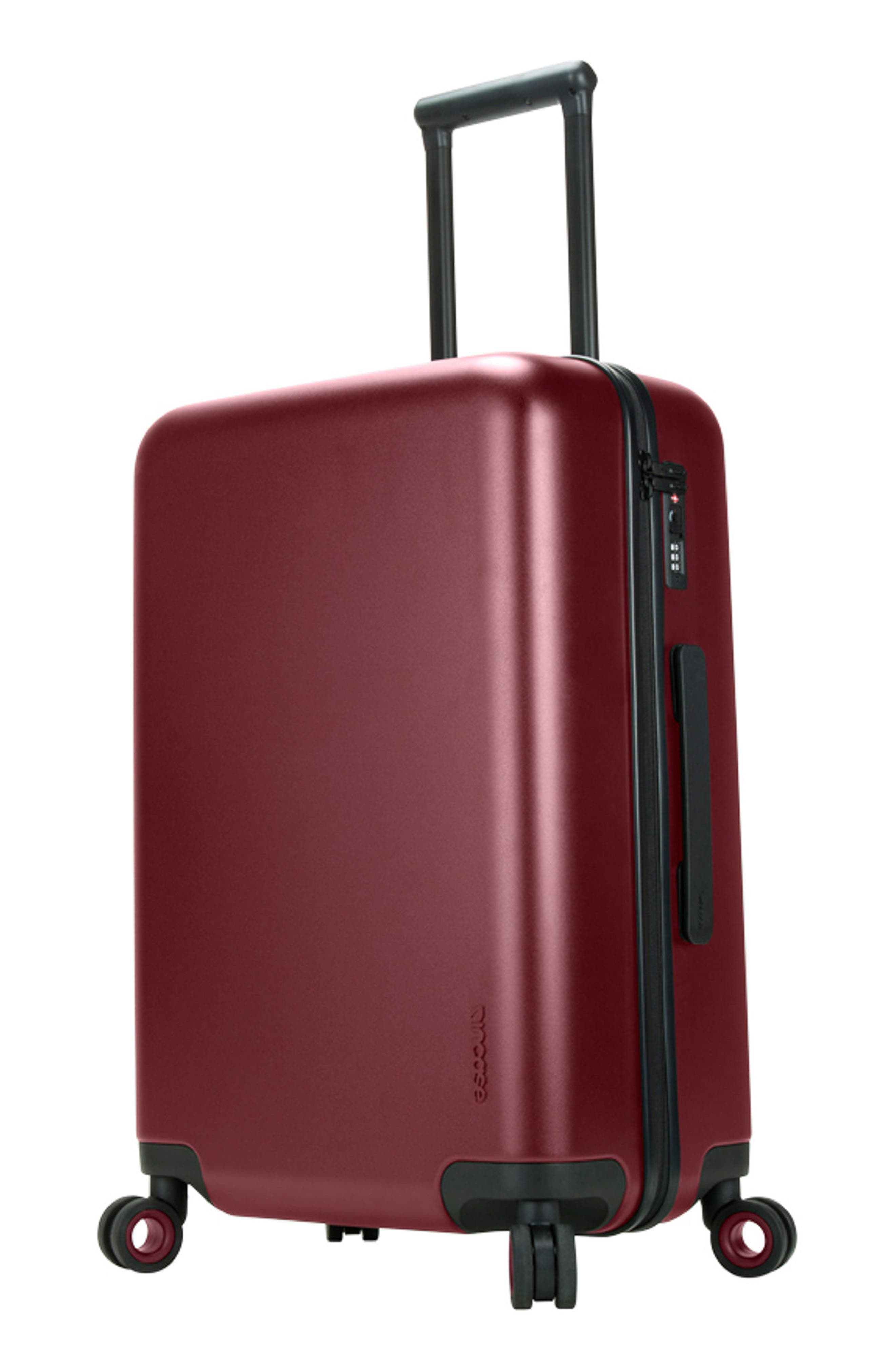 NOVI 31-Inch Hardshell Wheeled Packing Case,                             Alternate thumbnail 8, color,                             Deep Red