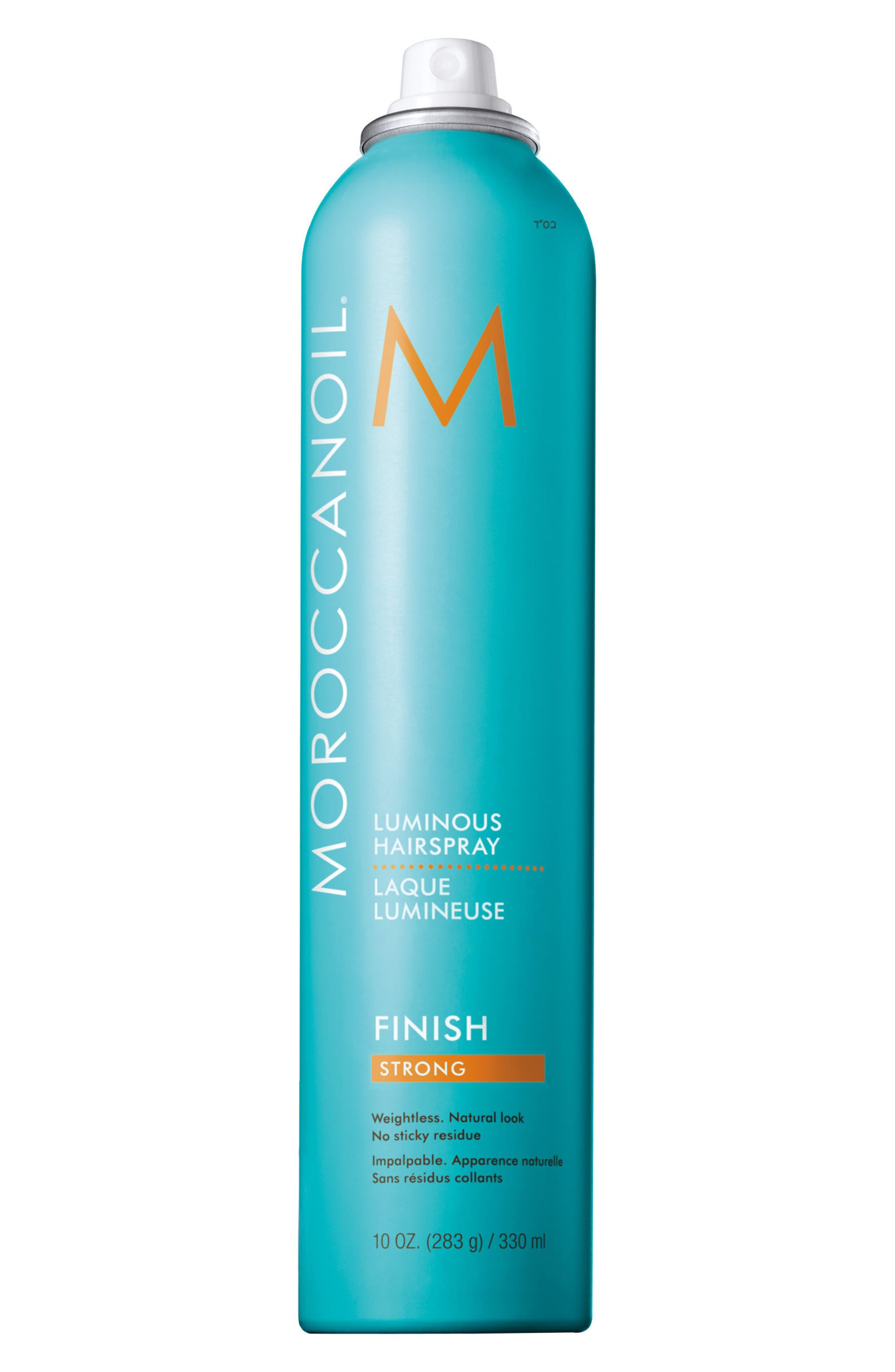 MOROCCANOIL 'Luminous' Hairspray Strong,                             Alternate thumbnail 2, color,                             No Color