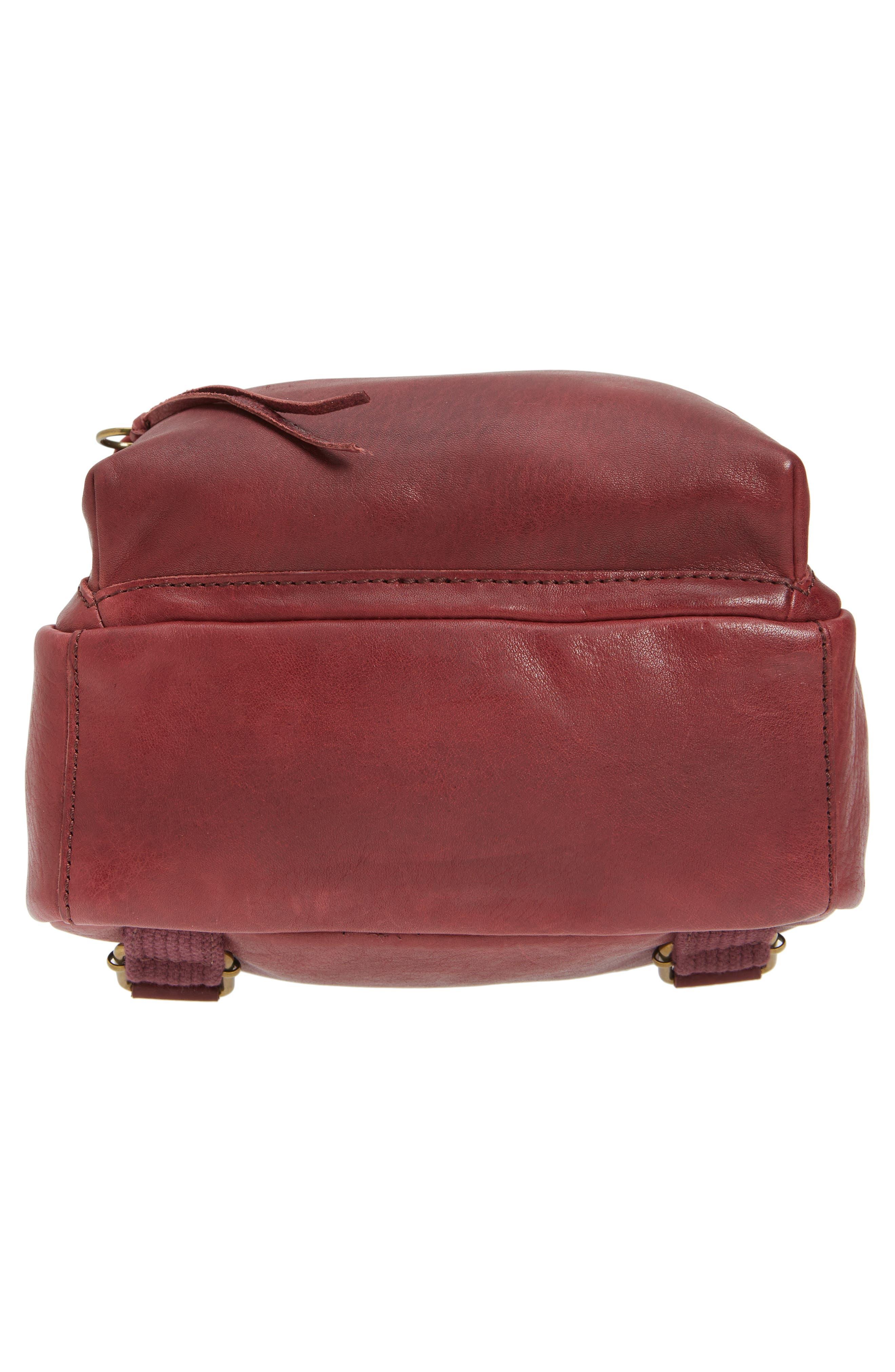 Alternate Image 6  - Madewell Mini Lorimer Leather Backpack