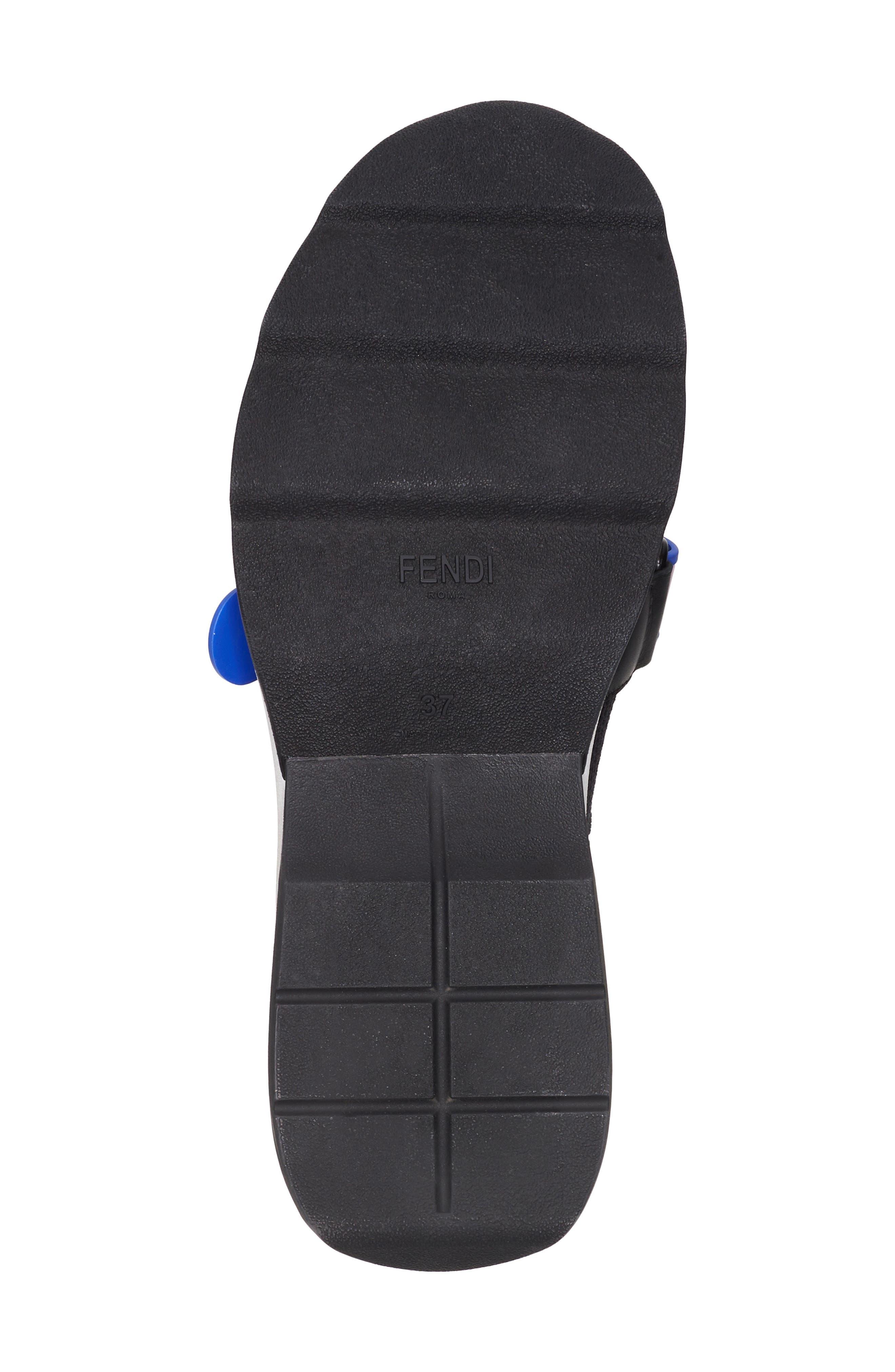 Rockoko Mismatch Sneaker,                             Alternate thumbnail 6, color,                             Black