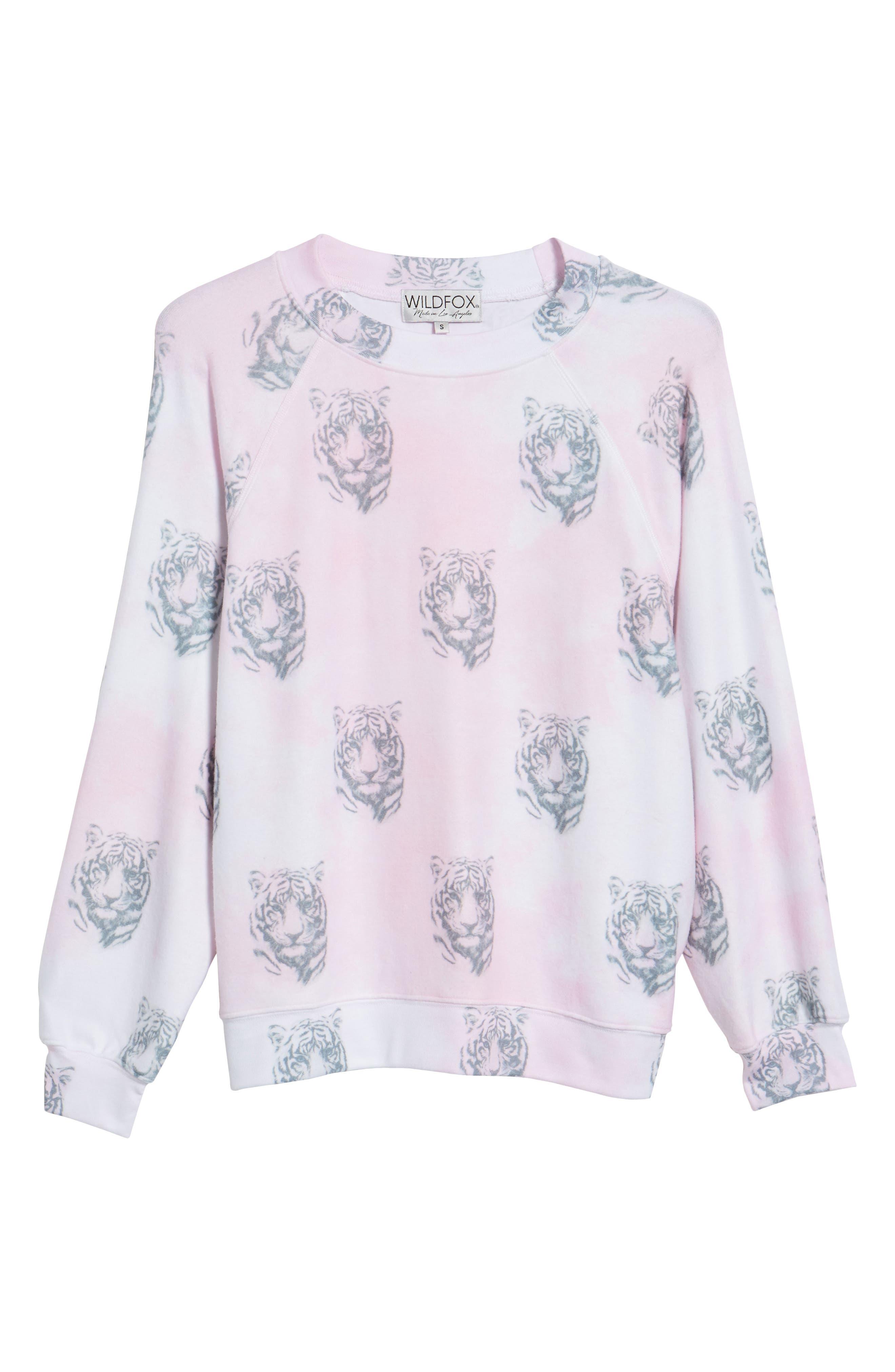Bengals - Sommers Sweatshirt,                             Alternate thumbnail 6, color,                             Pink Flush
