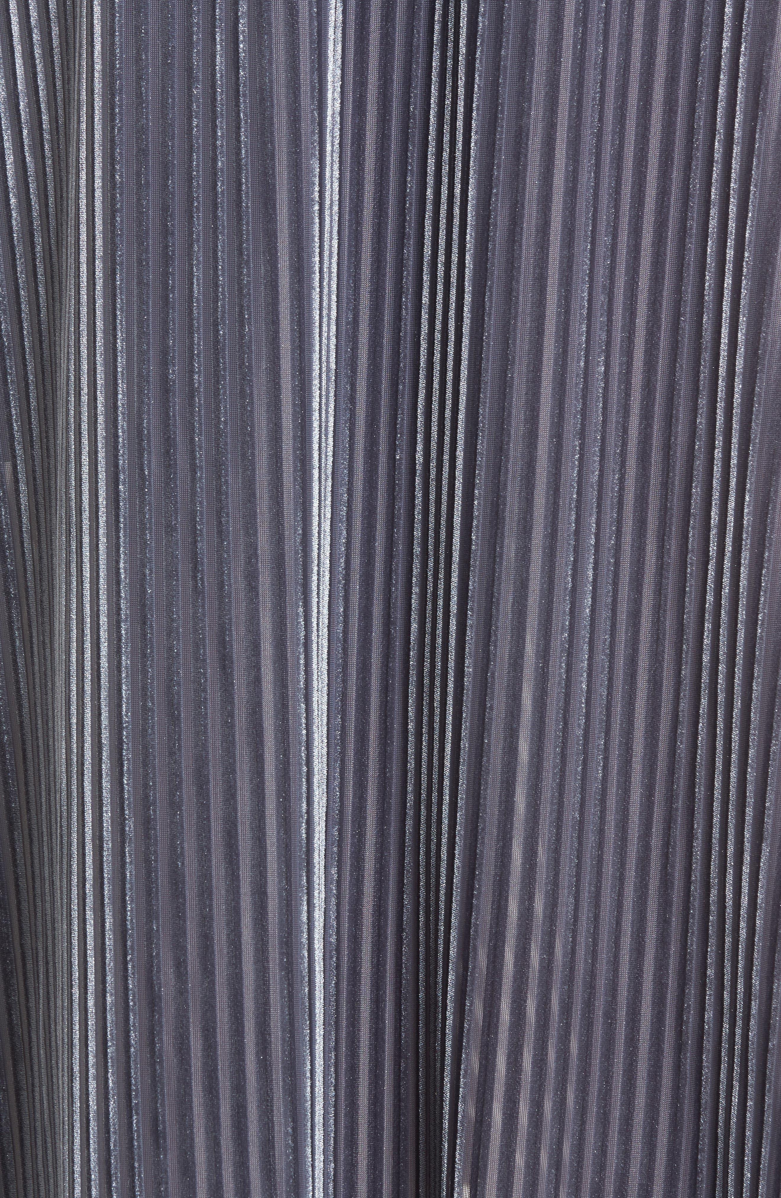 Velvet Wrap Skirt,                             Alternate thumbnail 5, color,                             Slate