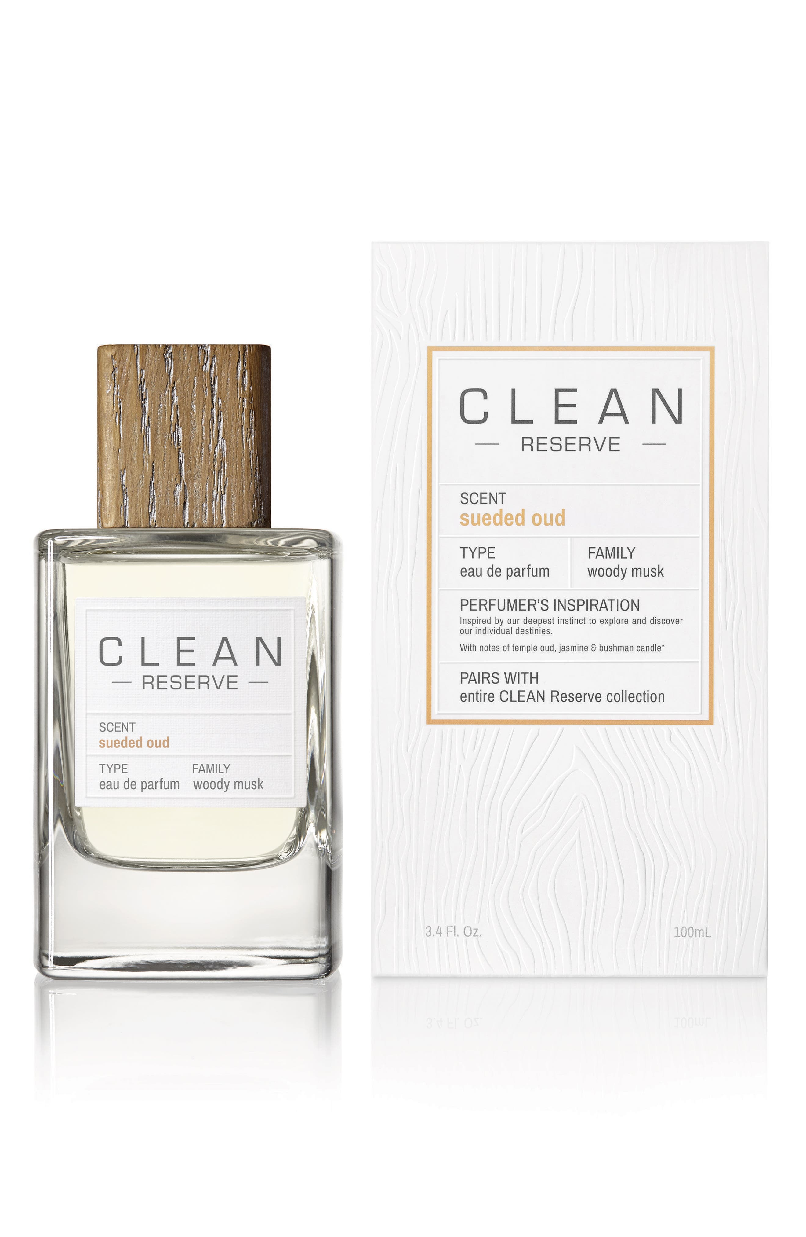 Alternate Image 2  - Clean Reserve Sueded Oud Eau de Parfum