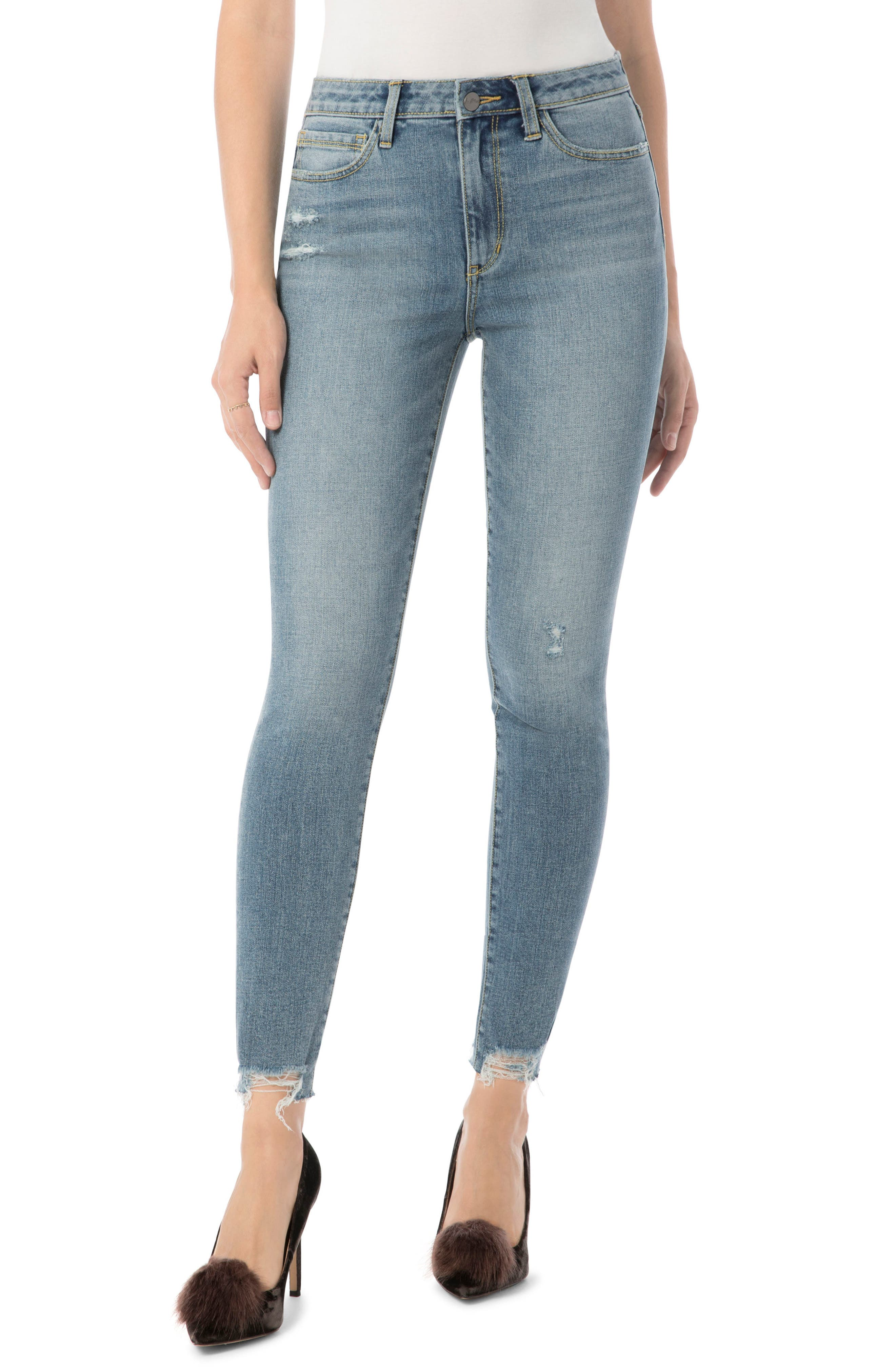The Kitten Ankle Jean,                         Main,                         color, Ainsley