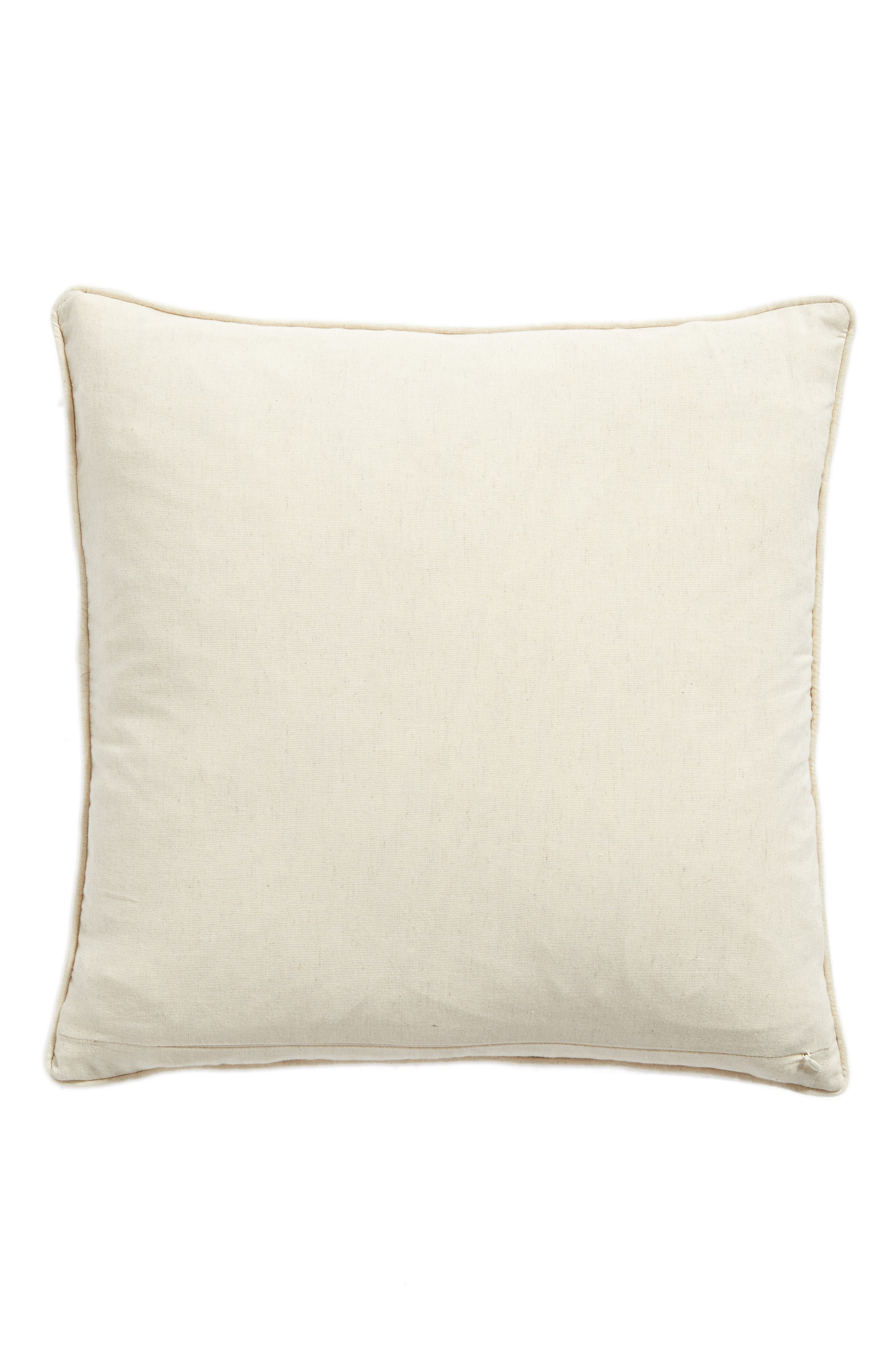 Alternate Image 2  - Nordstrom at Home Velvet Cutout Accent Pillow