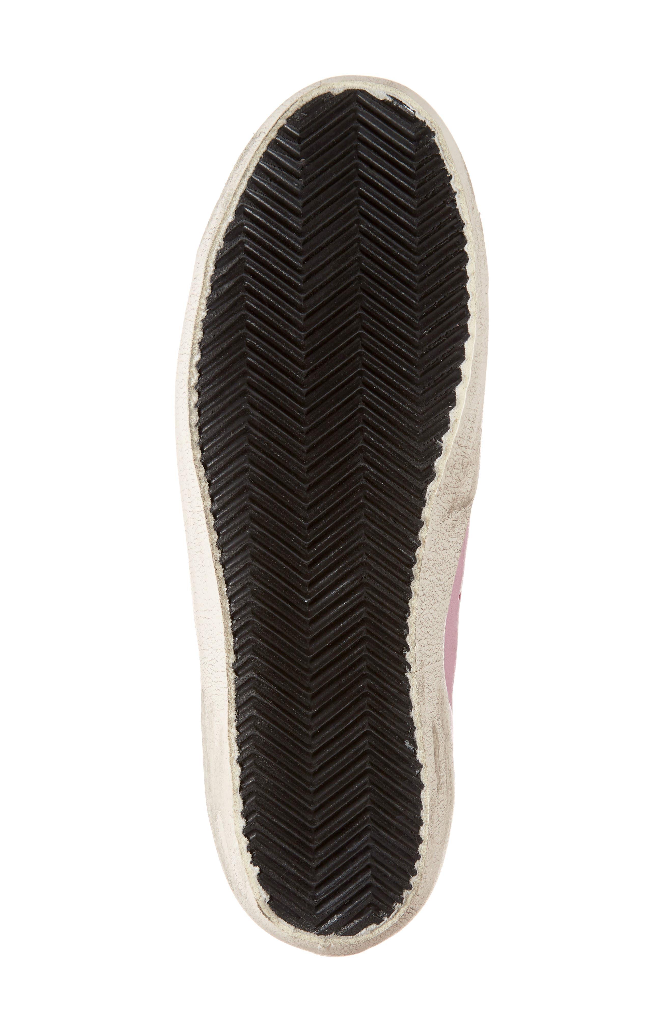 Superstar Low Top Sneaker,                             Alternate thumbnail 6, color,                             Pink/ Grey