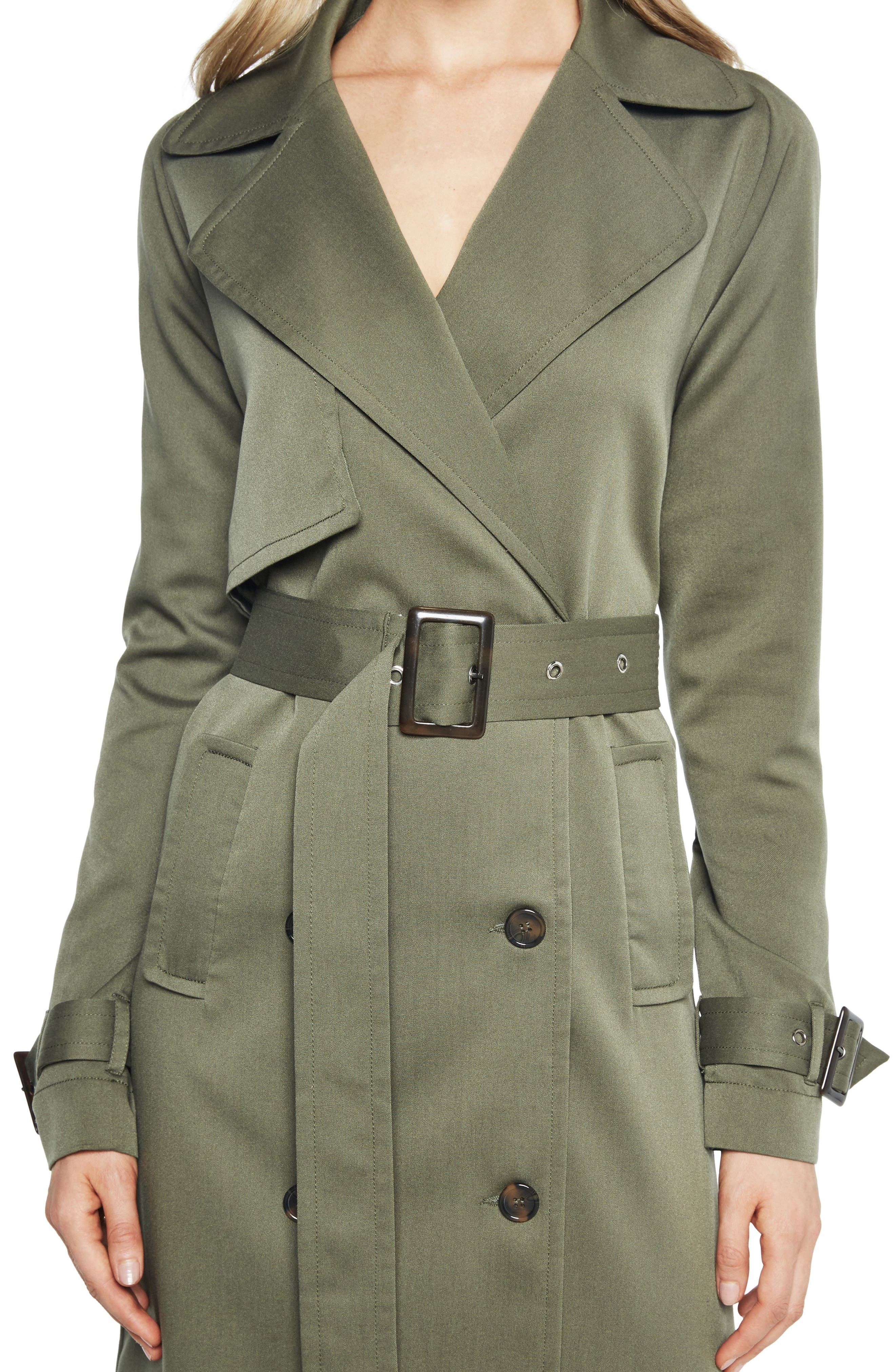 Alternate Image 3  - Bardot Military Trench Dress