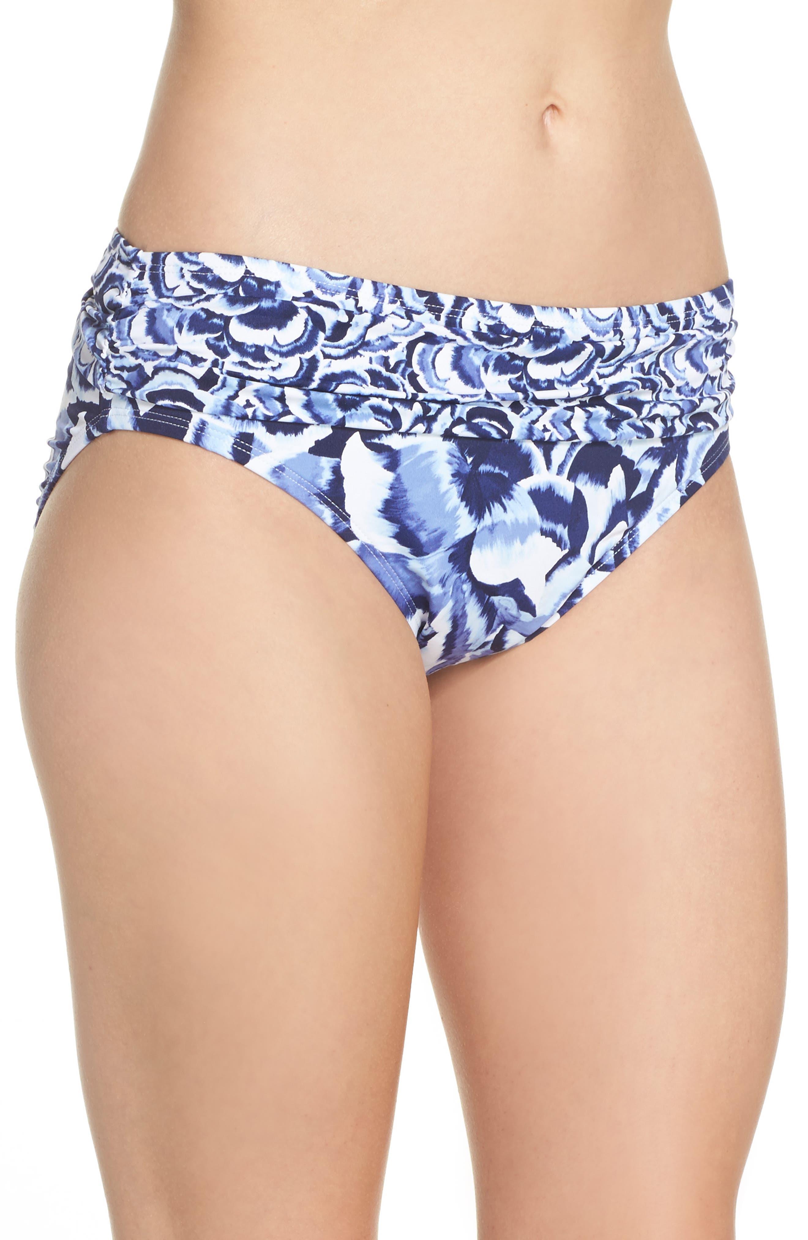 Alternate Image 3  - Tommy Bahama Pansy Petal Brief Bikini Bottoms